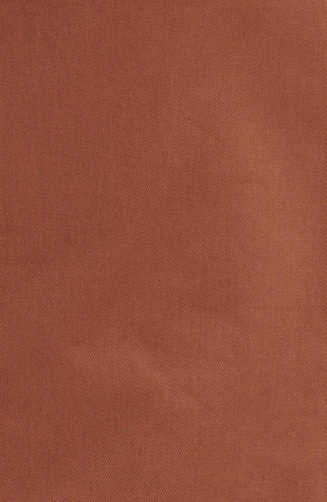 Diane von Furstenberg Midi Twill Pencil Skirt,                             Alternate thumbnail 5, color,                             203