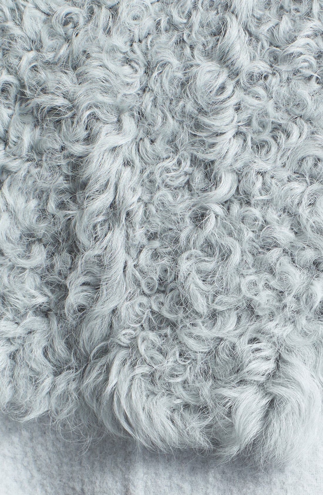 Genuine Kalgan, Shearling & Mongolian Fur Bomber Jacket,                             Alternate thumbnail 3, color,                             020