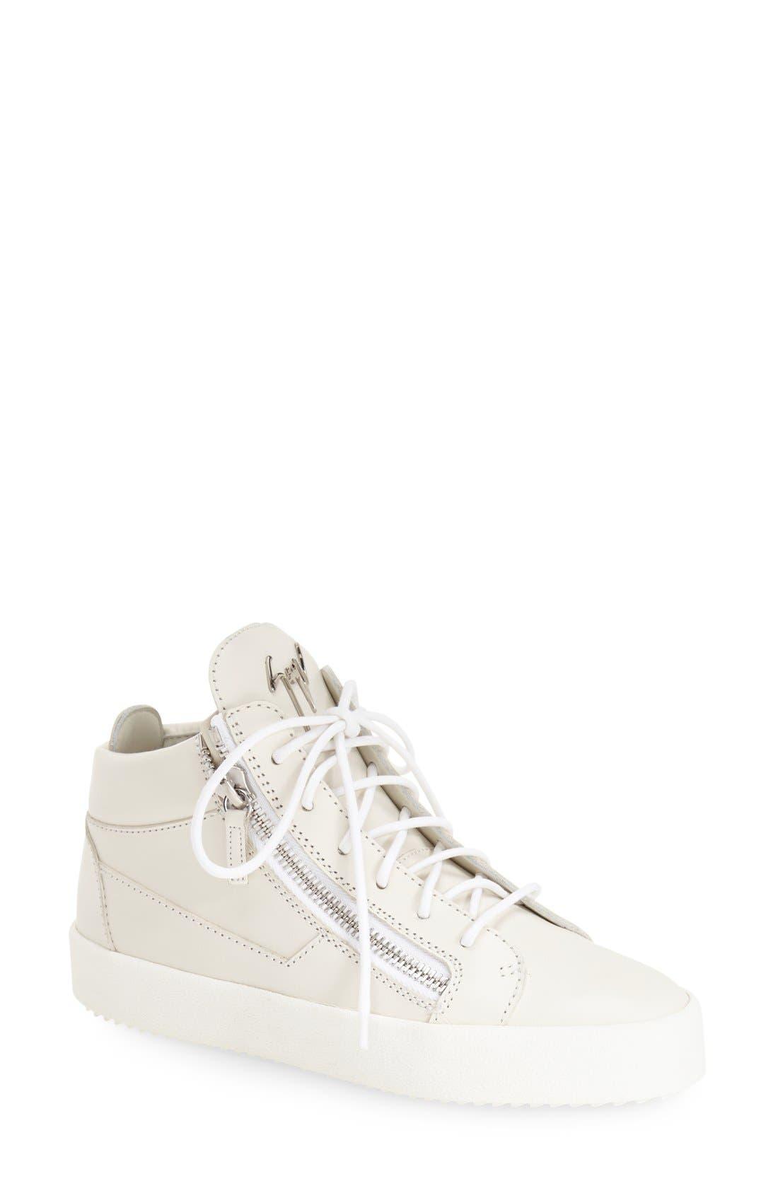 High Top Sneaker,                             Main thumbnail 1, color,                             020