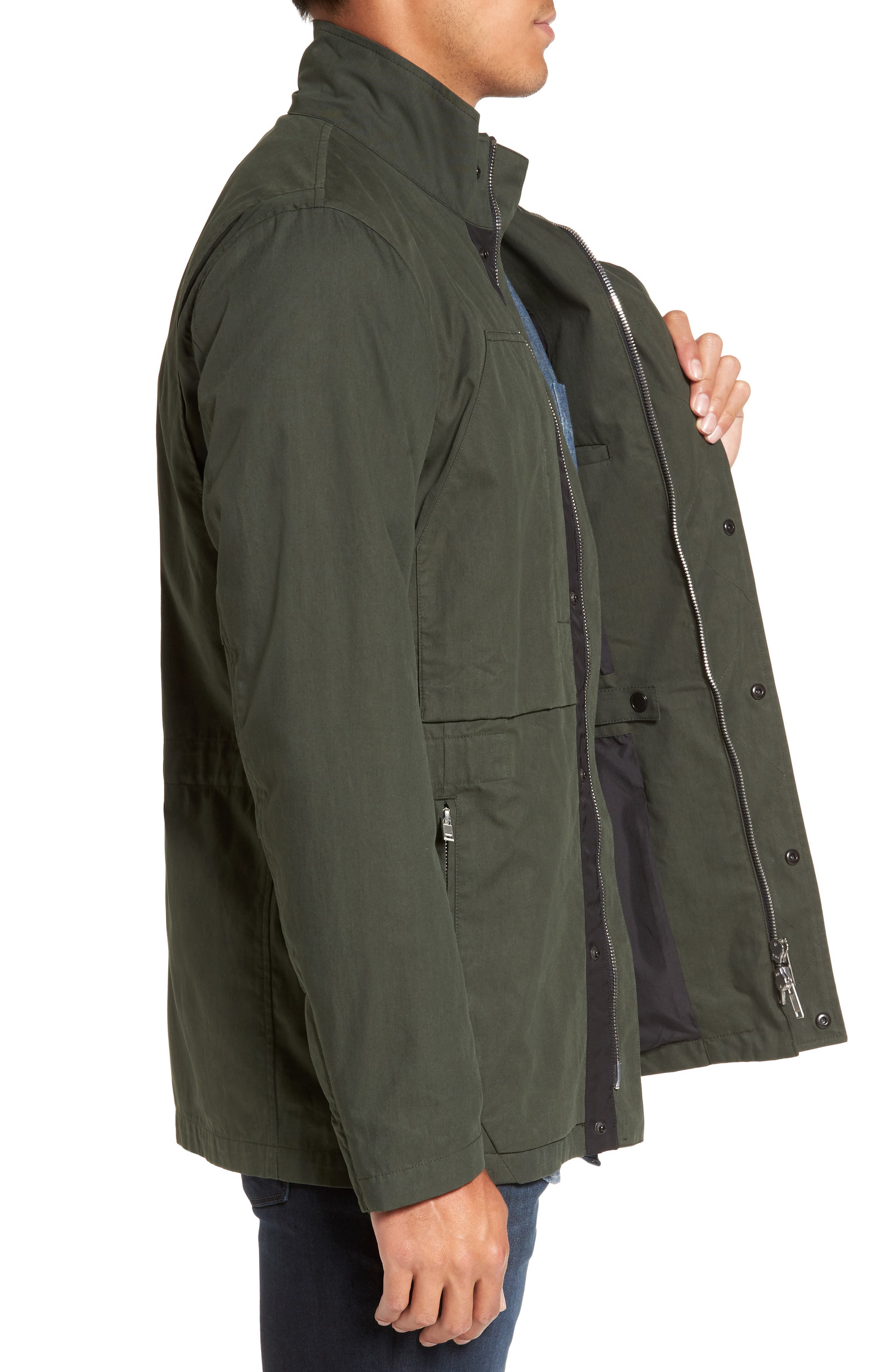 Canvas Field Jacket,                             Alternate thumbnail 3, color,