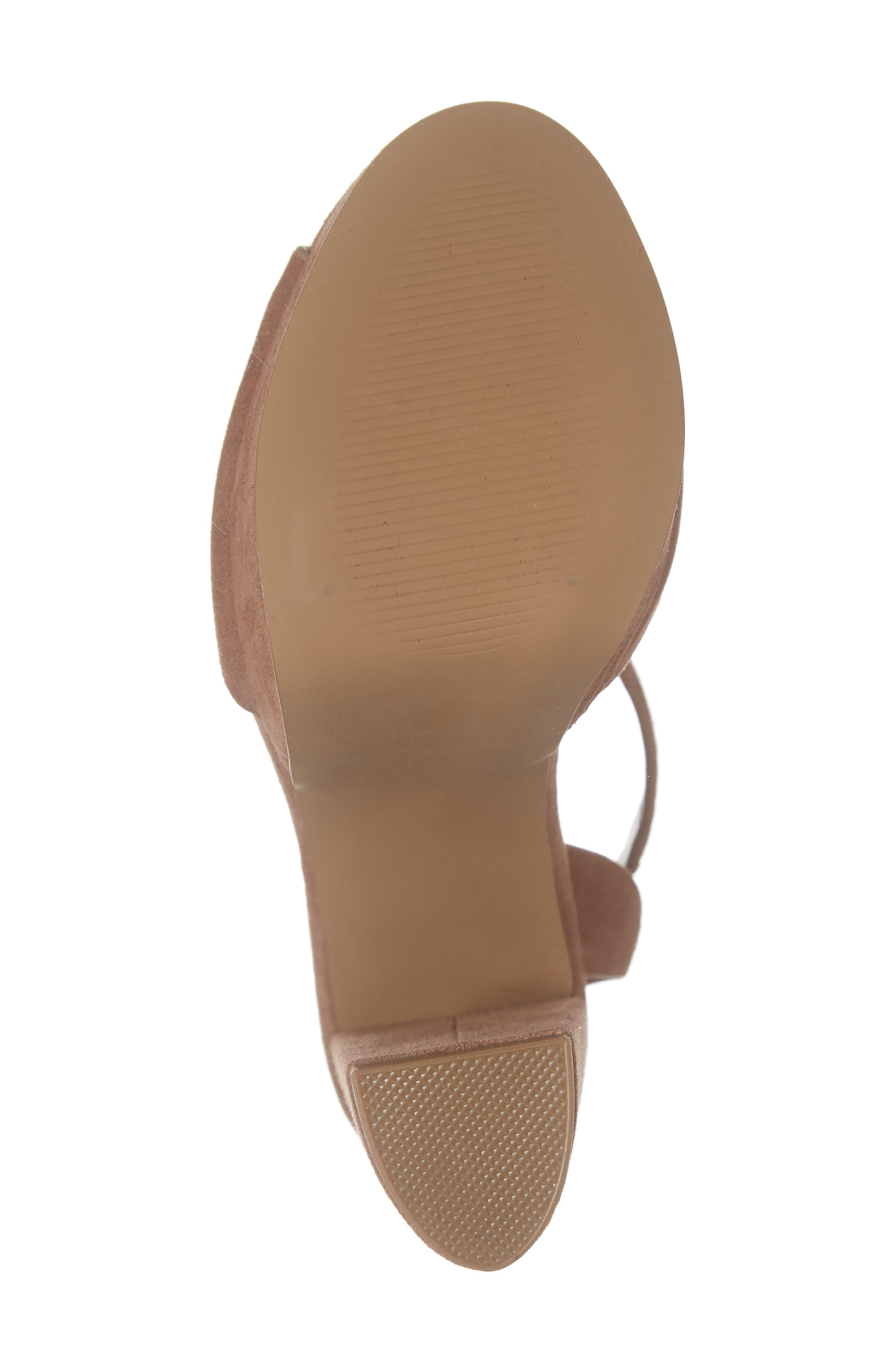 STEVE MADDEN,                             Jes Platform Sandal,                             Alternate thumbnail 6, color,                             230