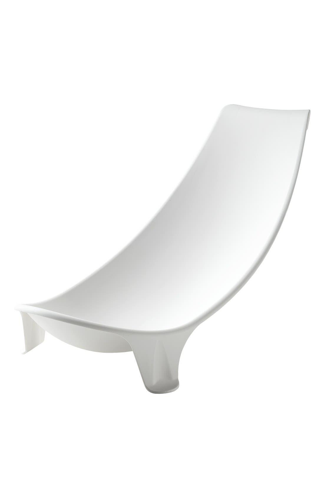 'Flexi Bath<sup>®</sup>' Newborn Support,                             Main thumbnail 1, color,                             WHITE
