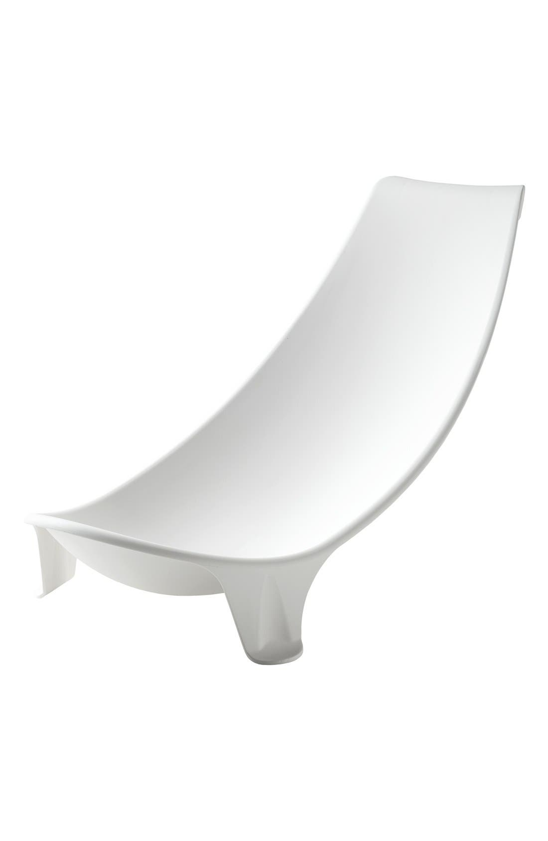 'Flexi Bath<sup>®</sup>' Newborn Support,                         Main,                         color, WHITE