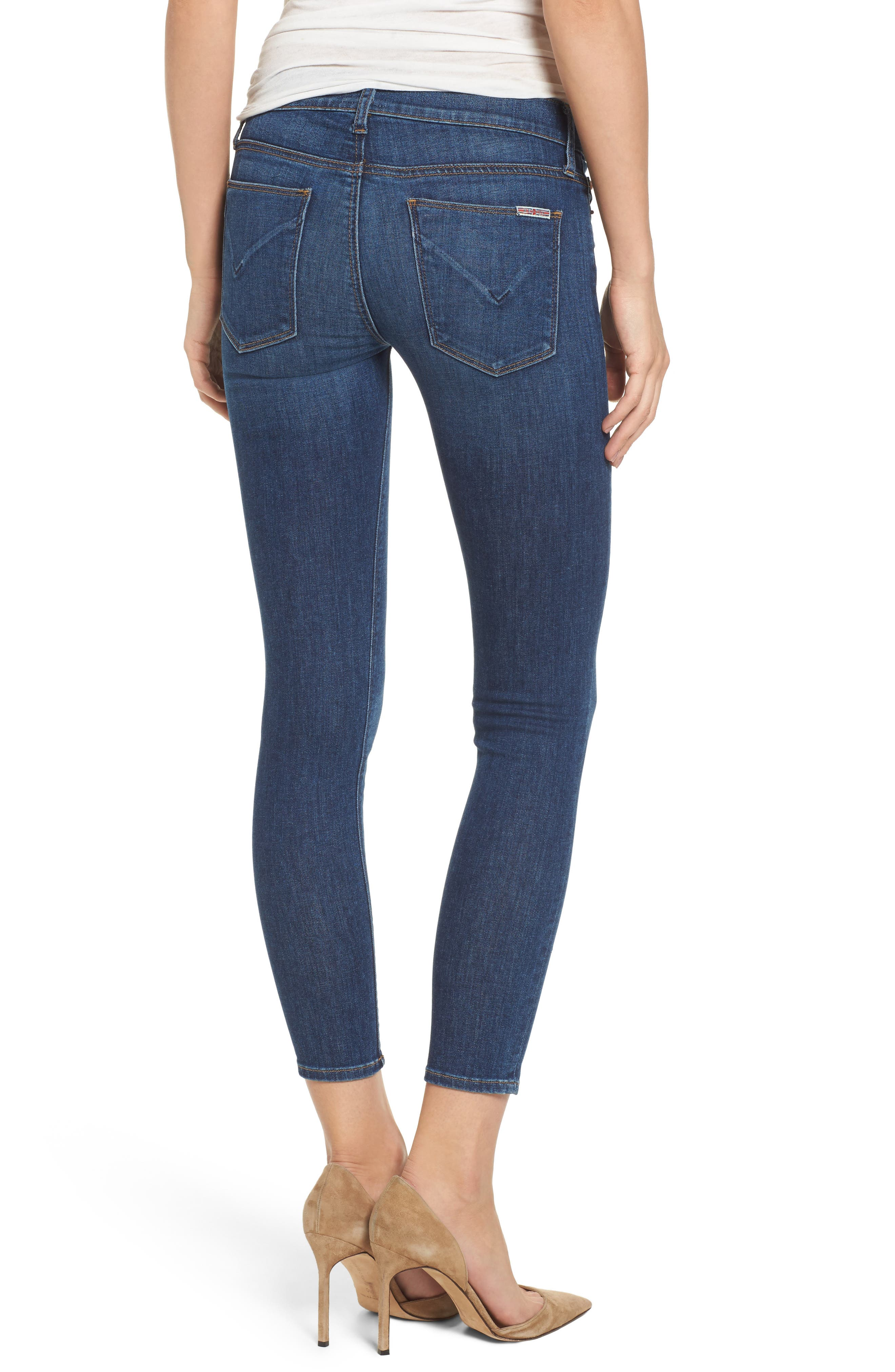 Krista Ankle Super Skinny Jeans,                             Alternate thumbnail 2, color,                             420