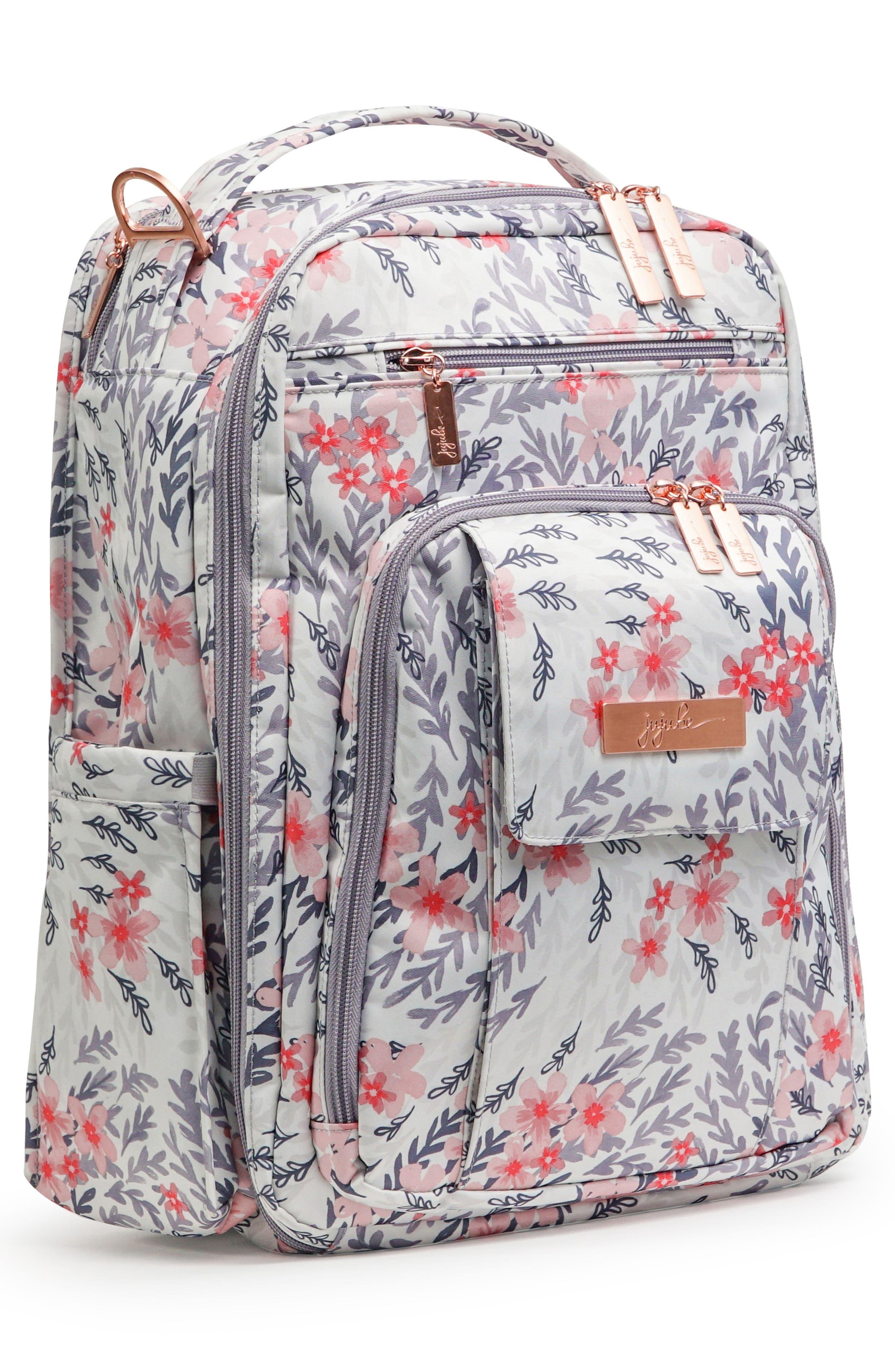Be Right Back Diaper Backpack,                             Alternate thumbnail 5, color,                             SAKURA SWIRL