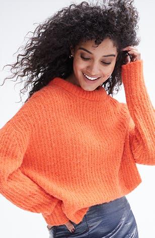 Electric heat: women's sweaters.