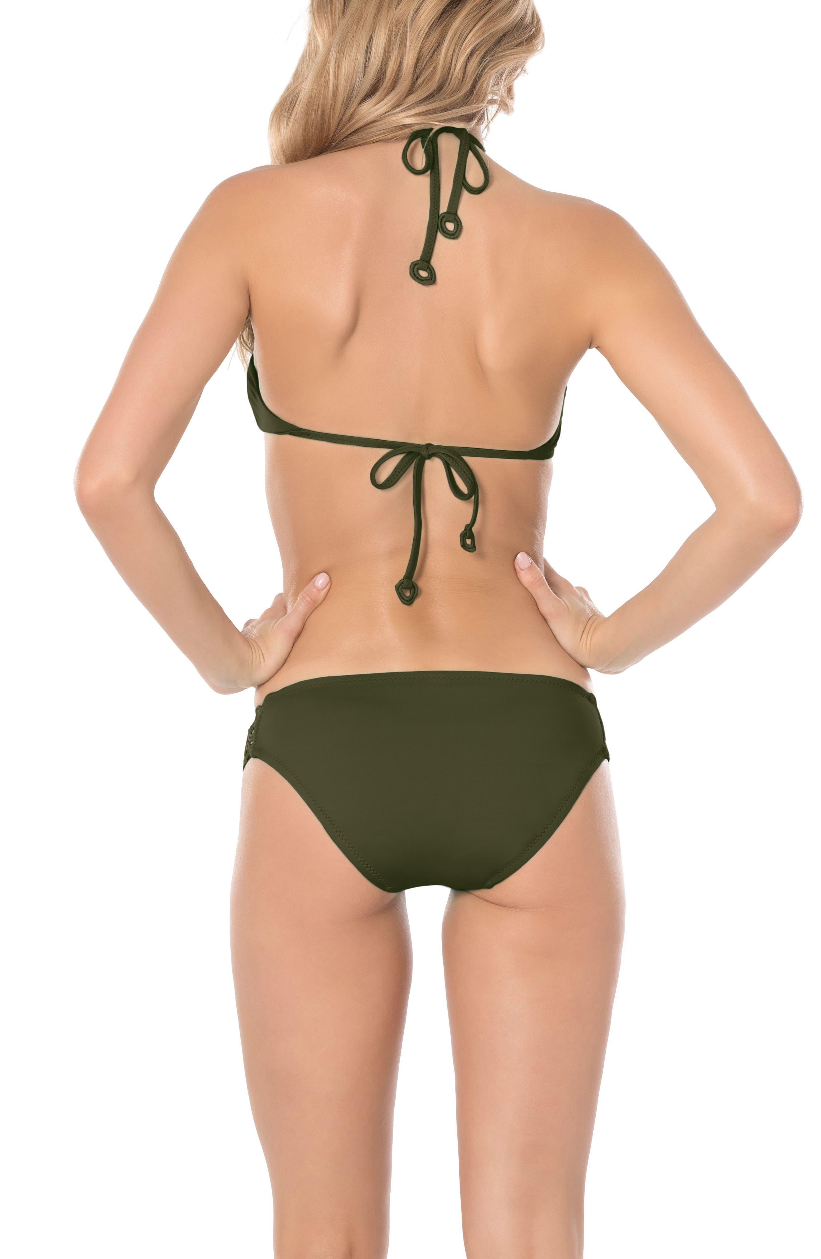 Siren Triangle Bikini Top,                             Alternate thumbnail 4, color,                             308