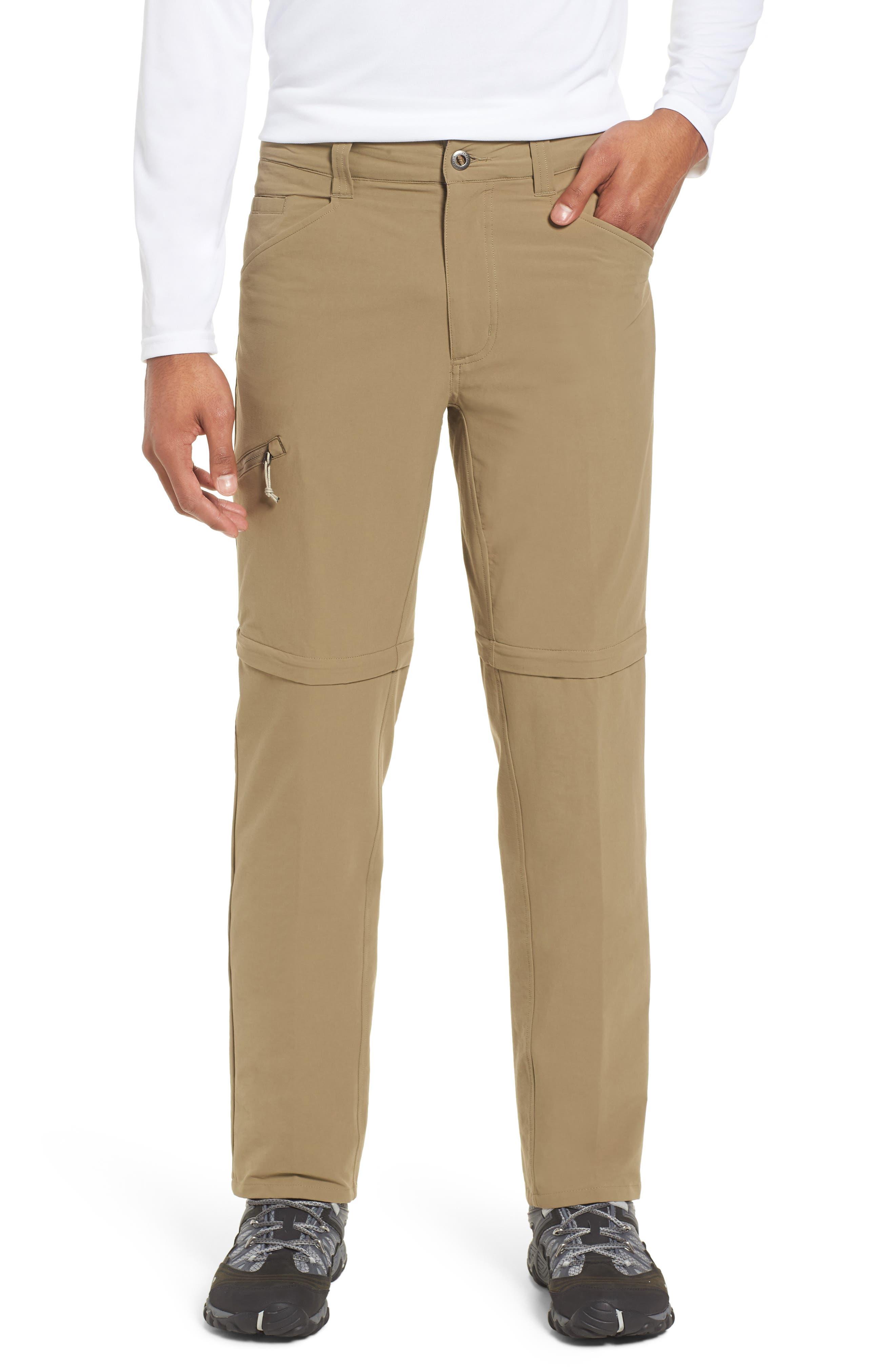 M's Quandry Convertible Pants,                         Main,                         color, ASH TAN