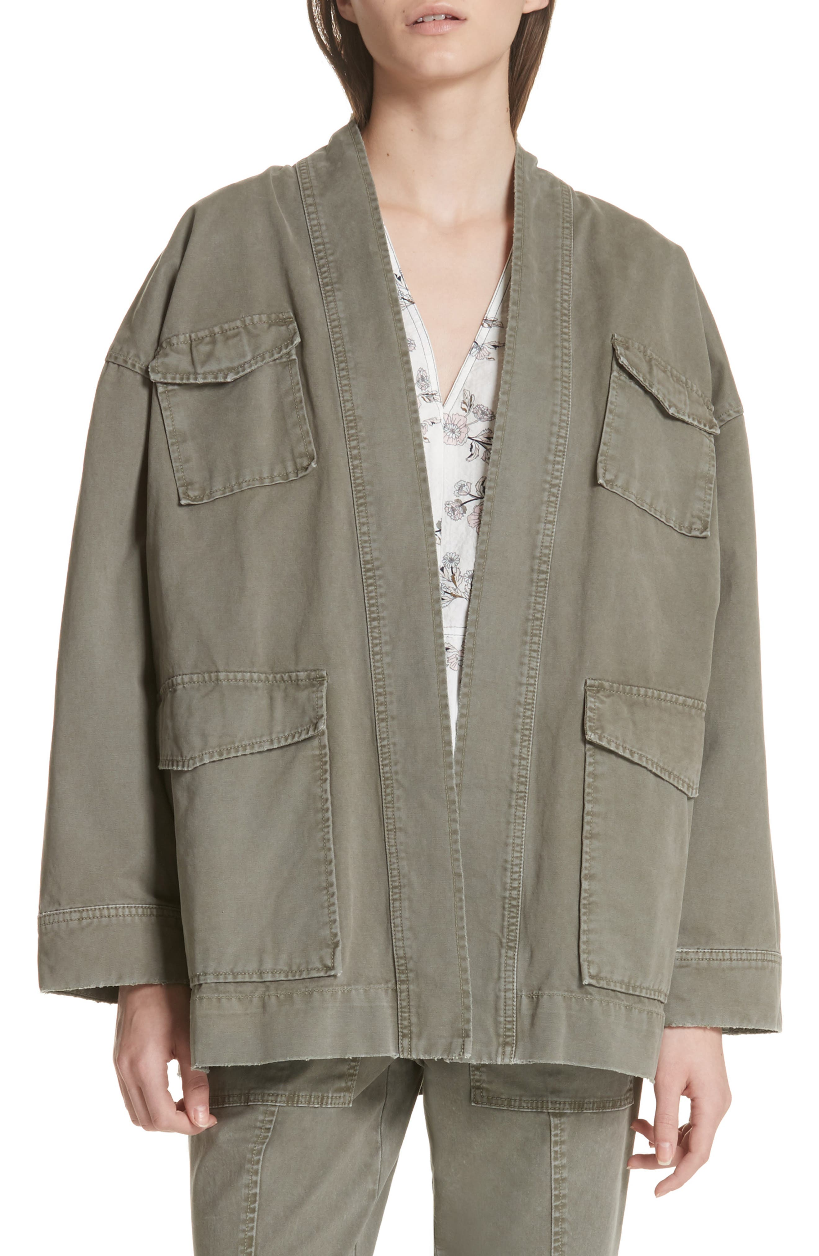 Belted Utility Jacket,                             Main thumbnail 1, color,                             318