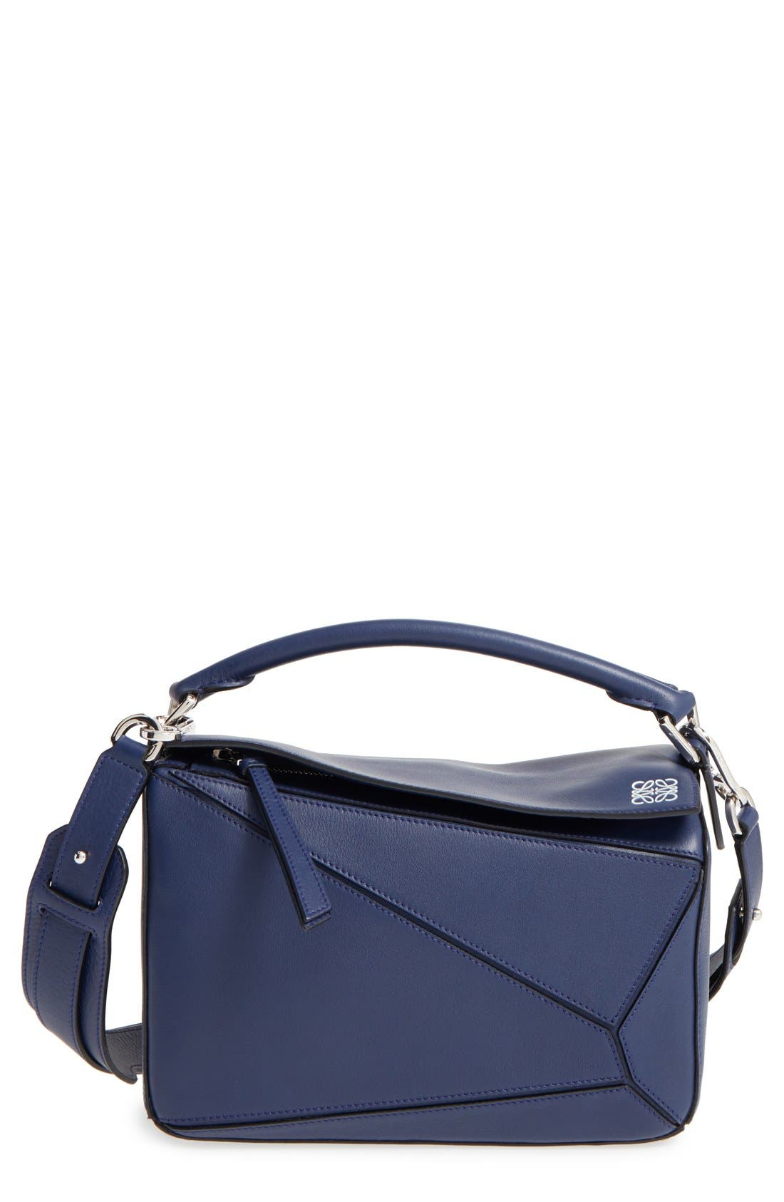 'Small Puzzle' Calfskin Leather Bag,                             Main thumbnail 5, color,