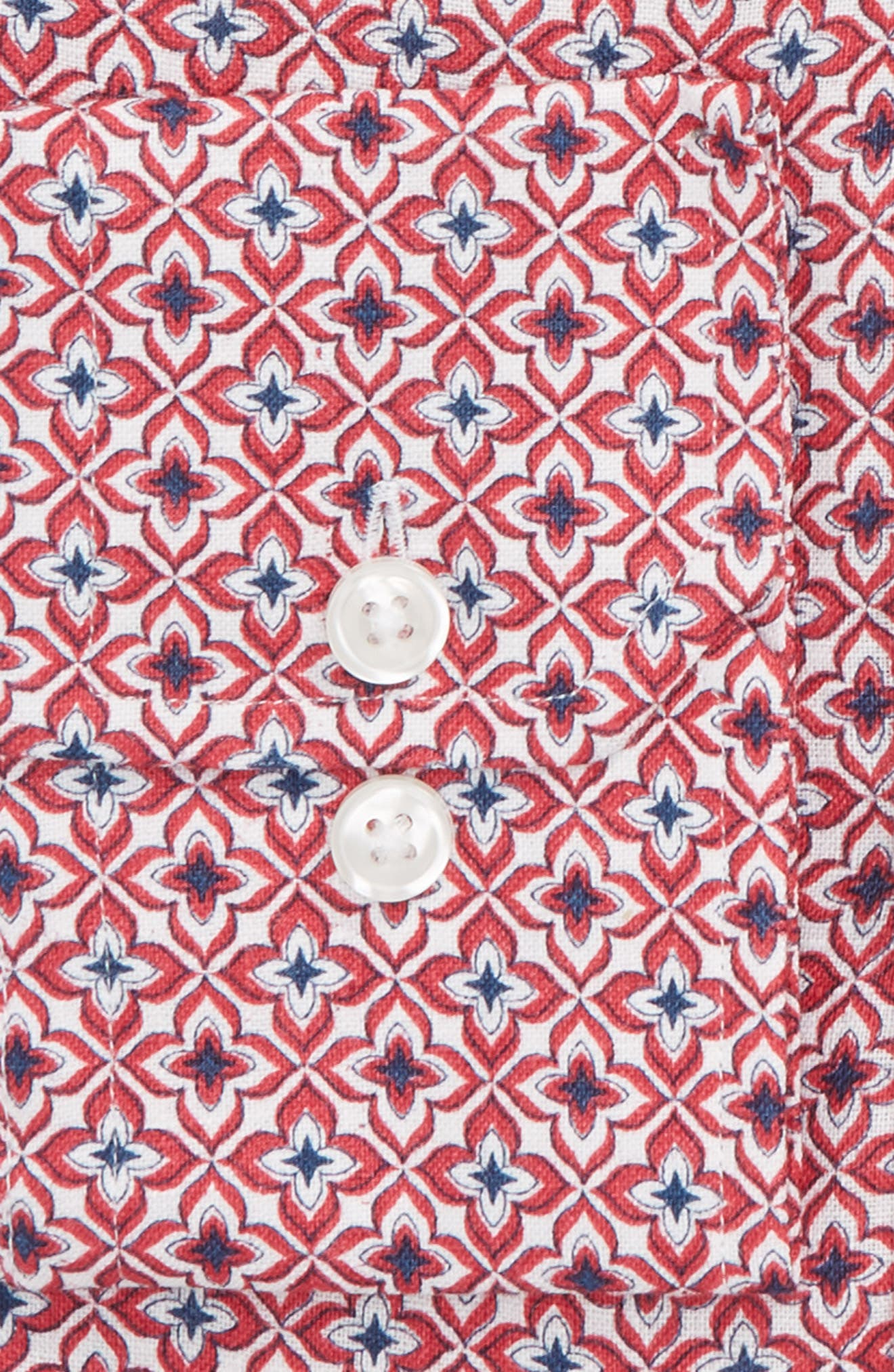 by Ilaria Urbinati Edmond Slim Fit Medallion Dress Shirt,                             Alternate thumbnail 2, color,