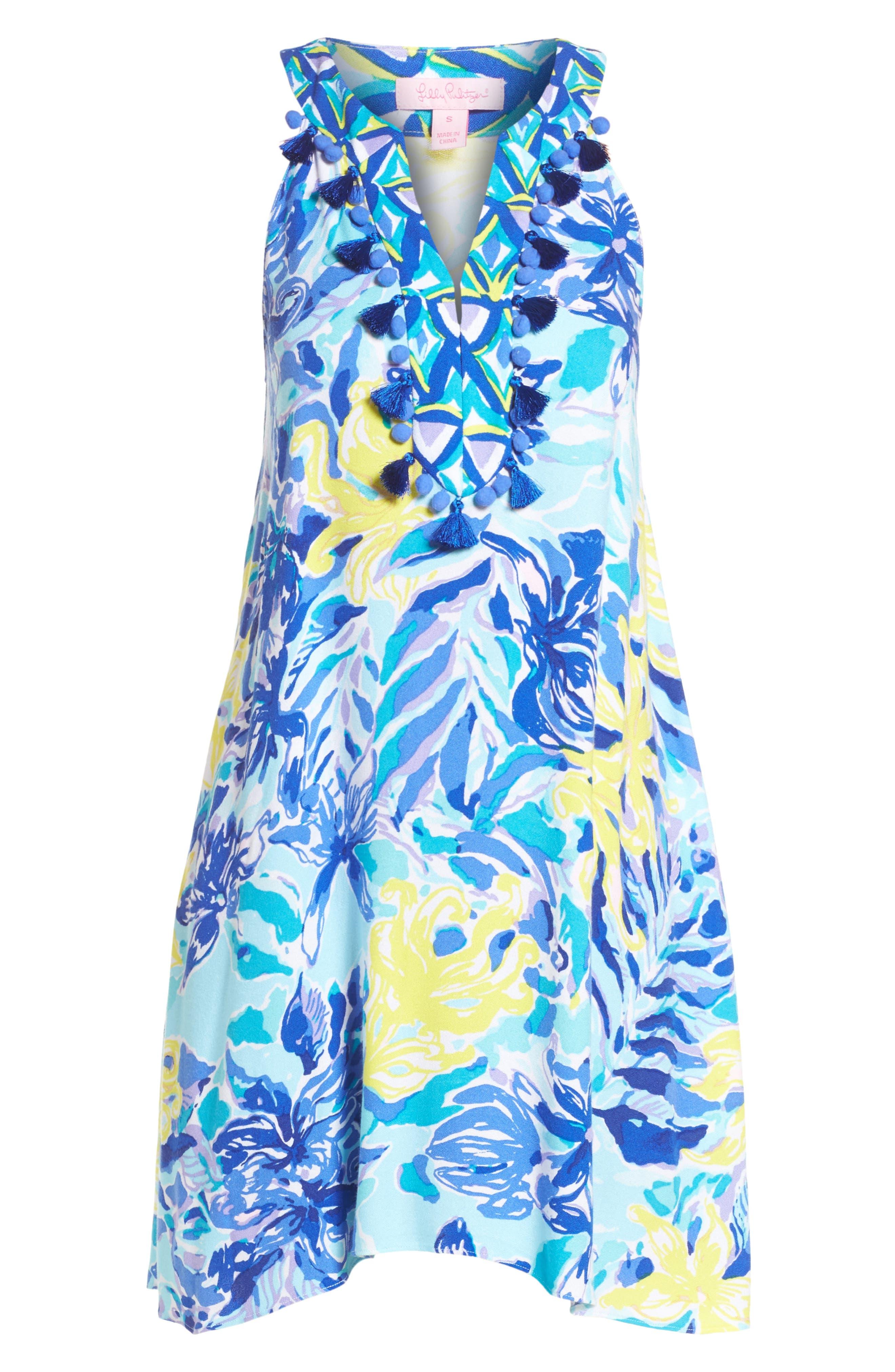 Achelle Trapeze Dress,                             Alternate thumbnail 6, color,                             427