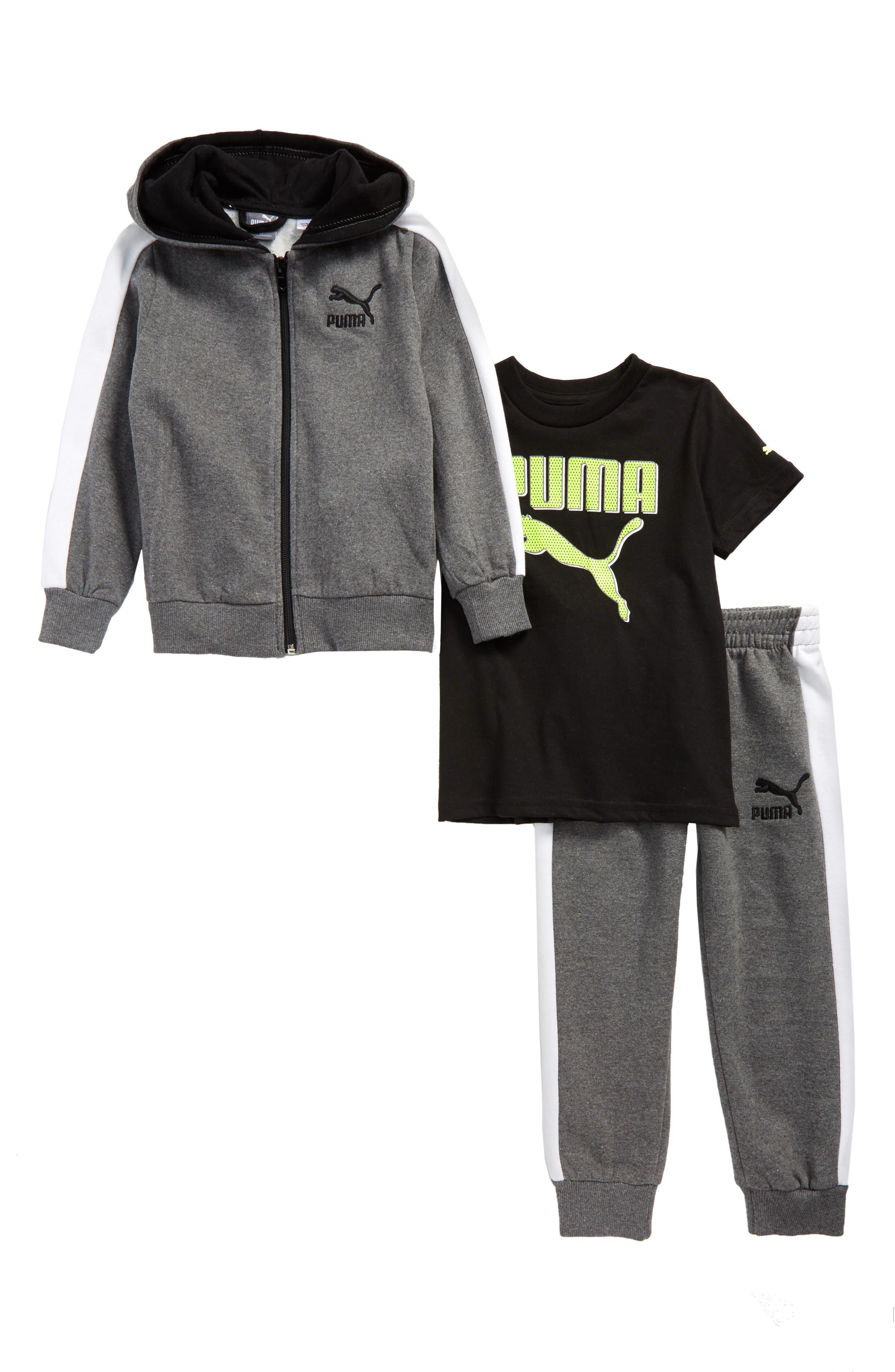 T-Shirt, Hoodie & Sweatpants Set,                             Main thumbnail 2, color,