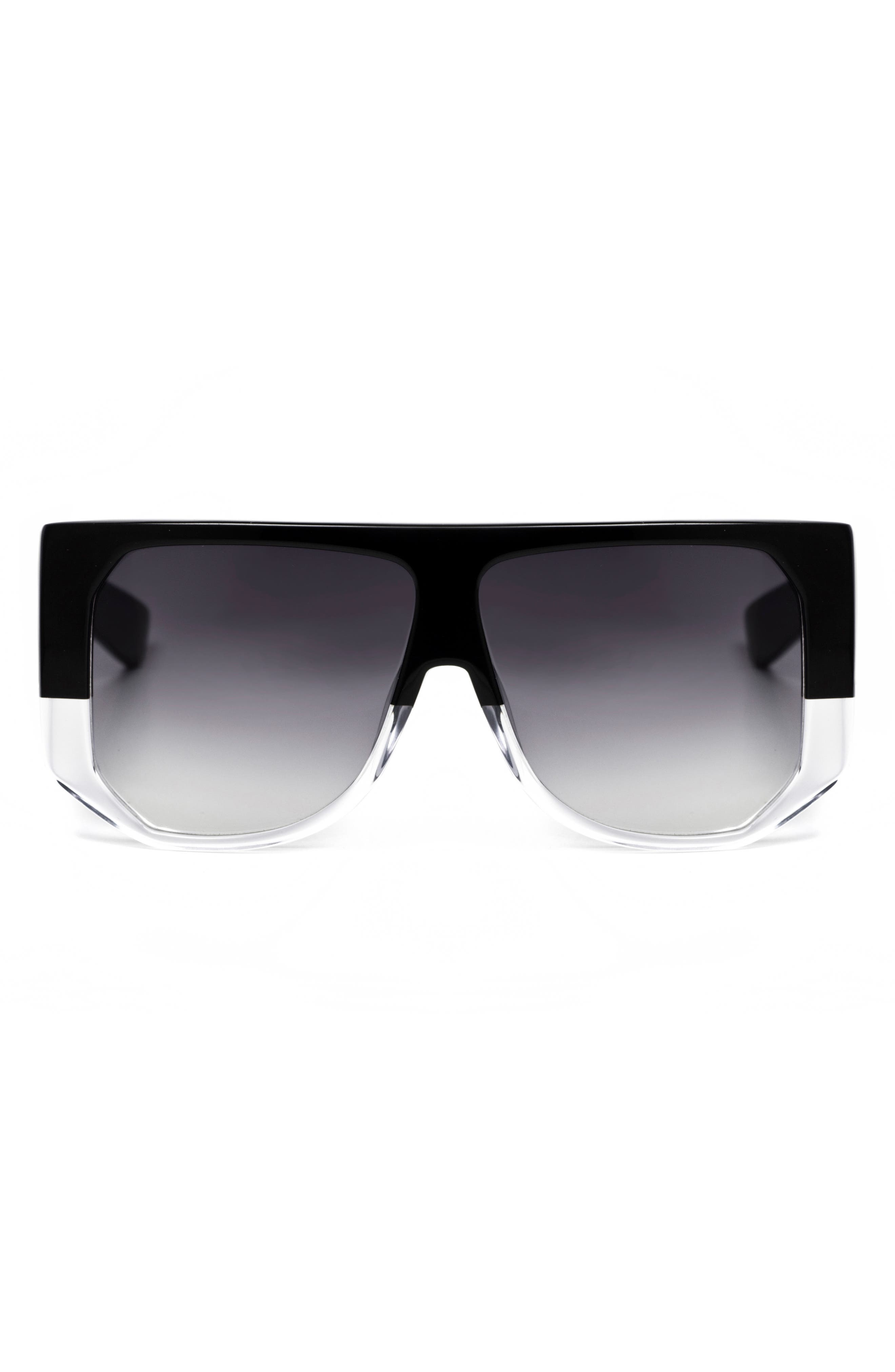 HADID,                             Frequent Flyer 58mm Sunglasses,                             Alternate thumbnail 3, color,                             001