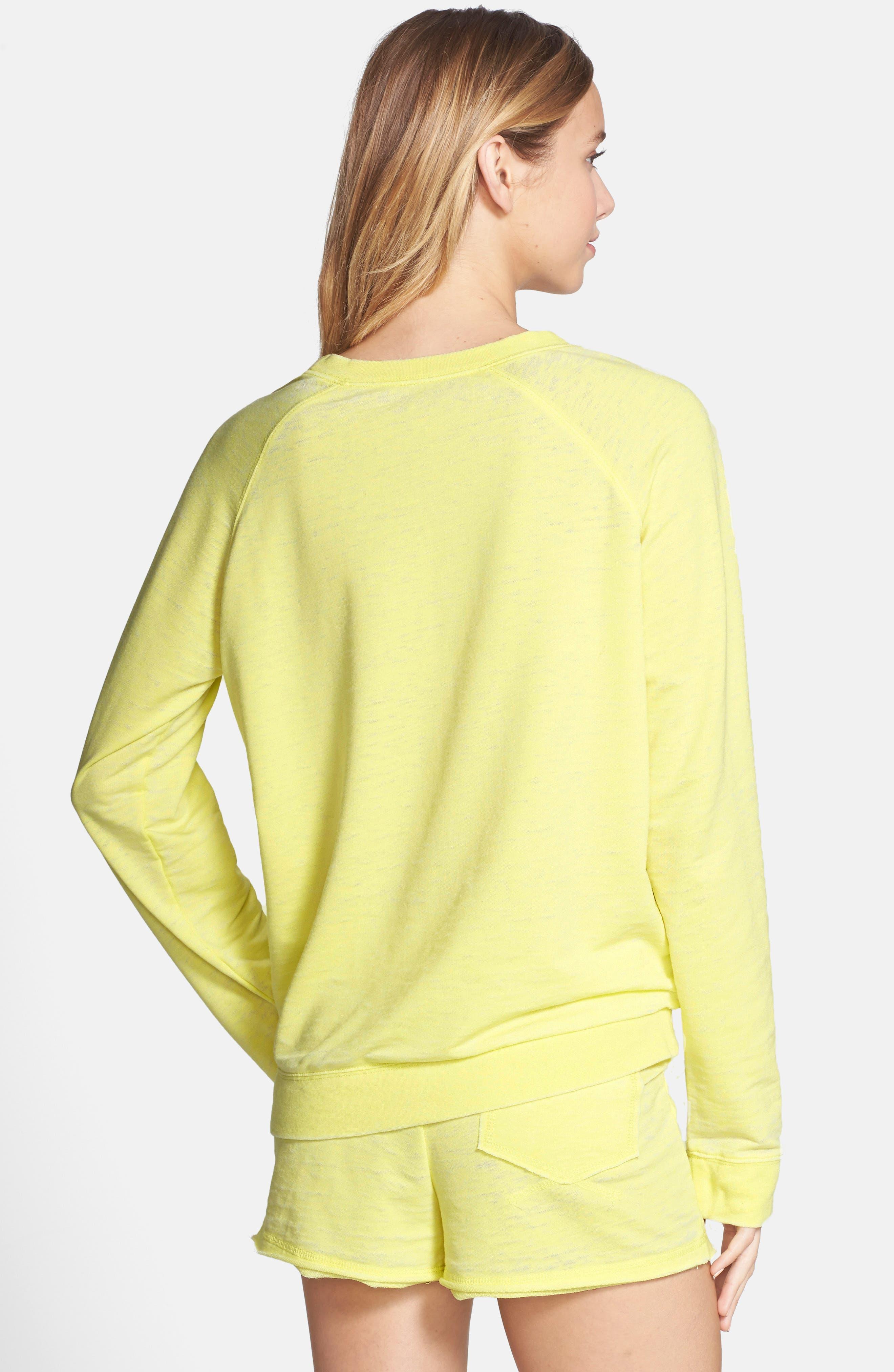Burnout Lounge Sweatshirt,                             Alternate thumbnail 127, color,