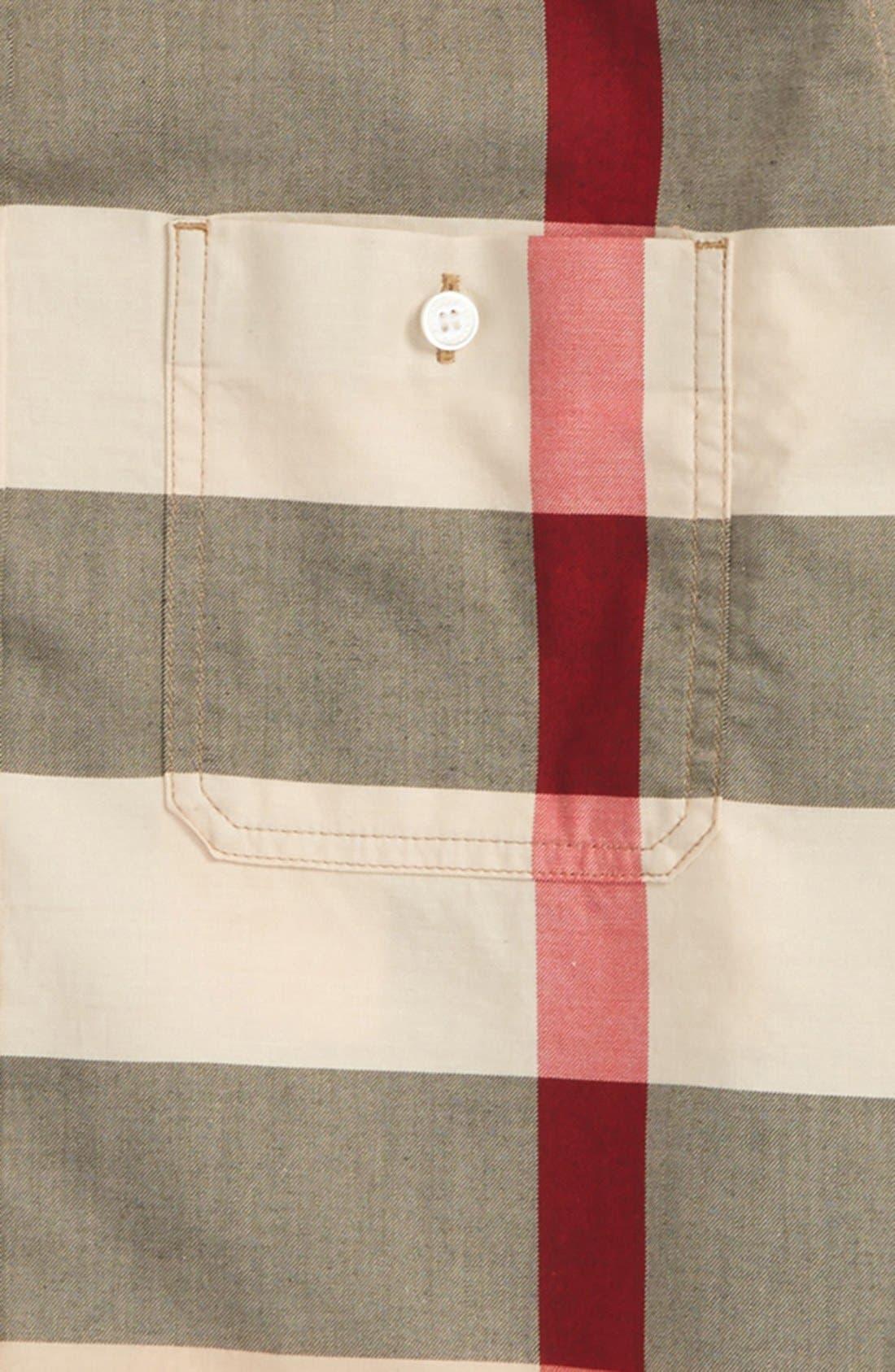 'Mini Camber' Check Long Sleeve Shirt,                             Alternate thumbnail 2, color,                             NEW CLASSIC CHECK