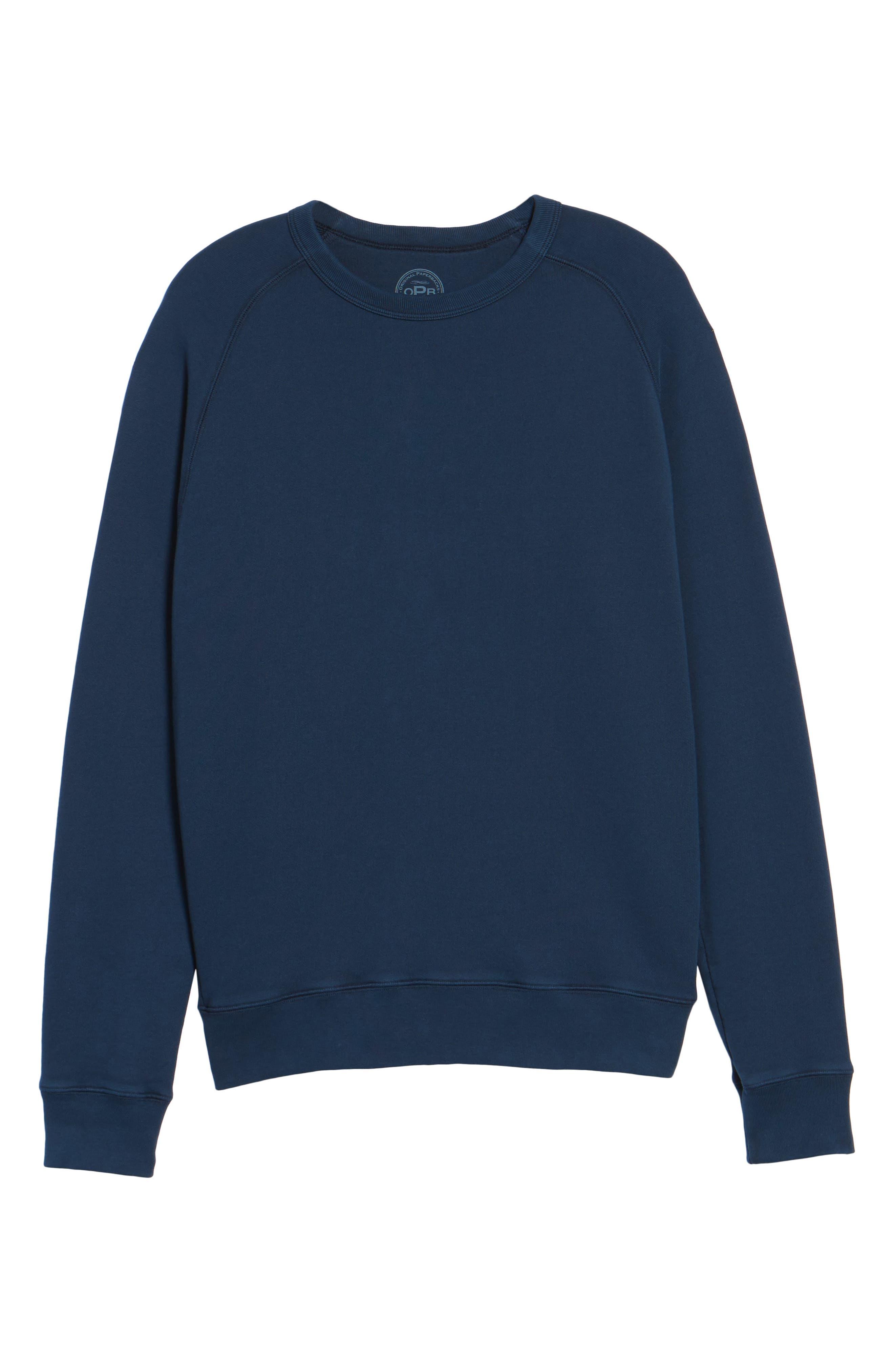 South Sea Raglan Sweatshirt,                             Alternate thumbnail 17, color,