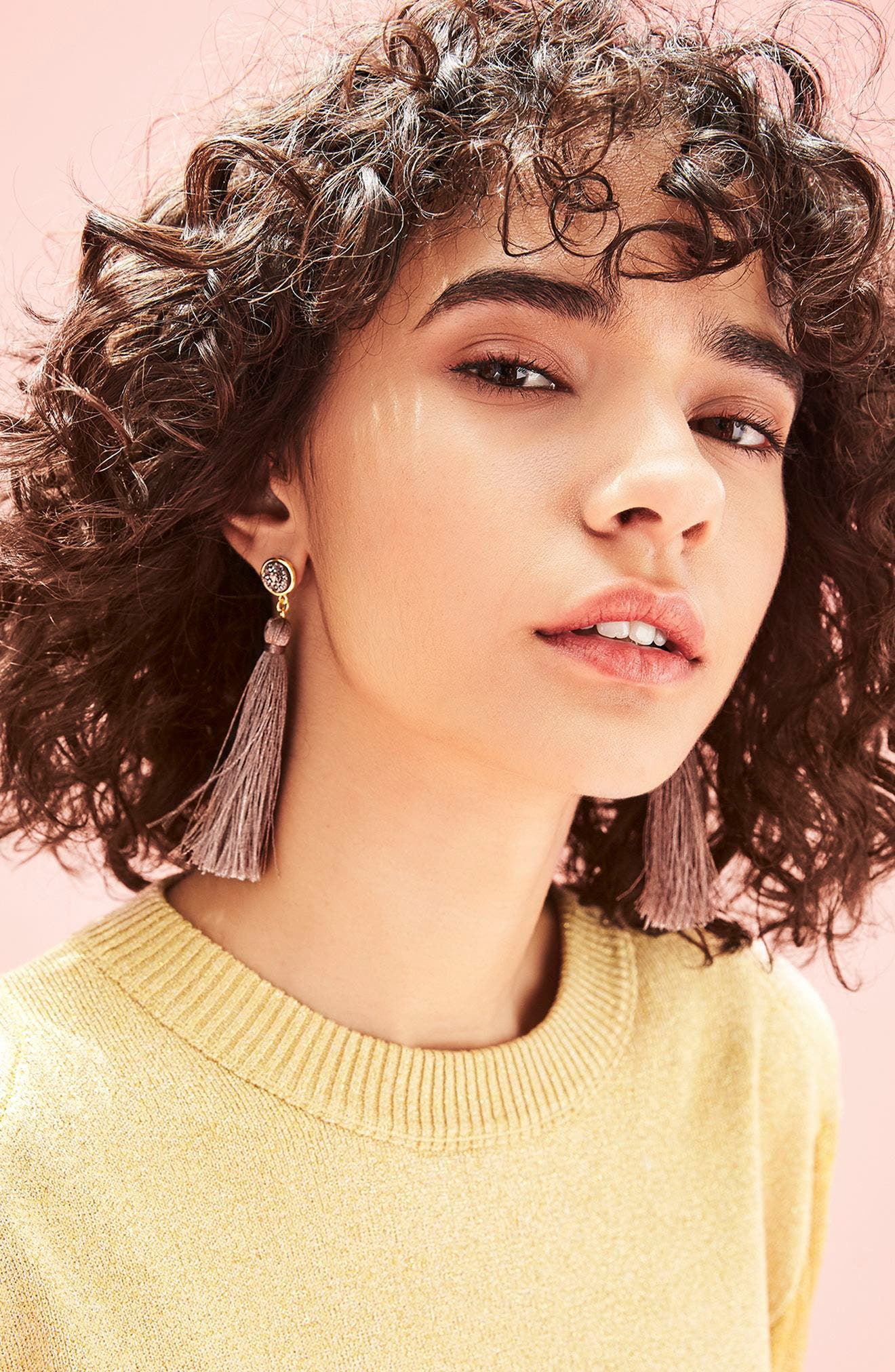Astoria Tassel Earrings,                             Alternate thumbnail 3, color,                             710