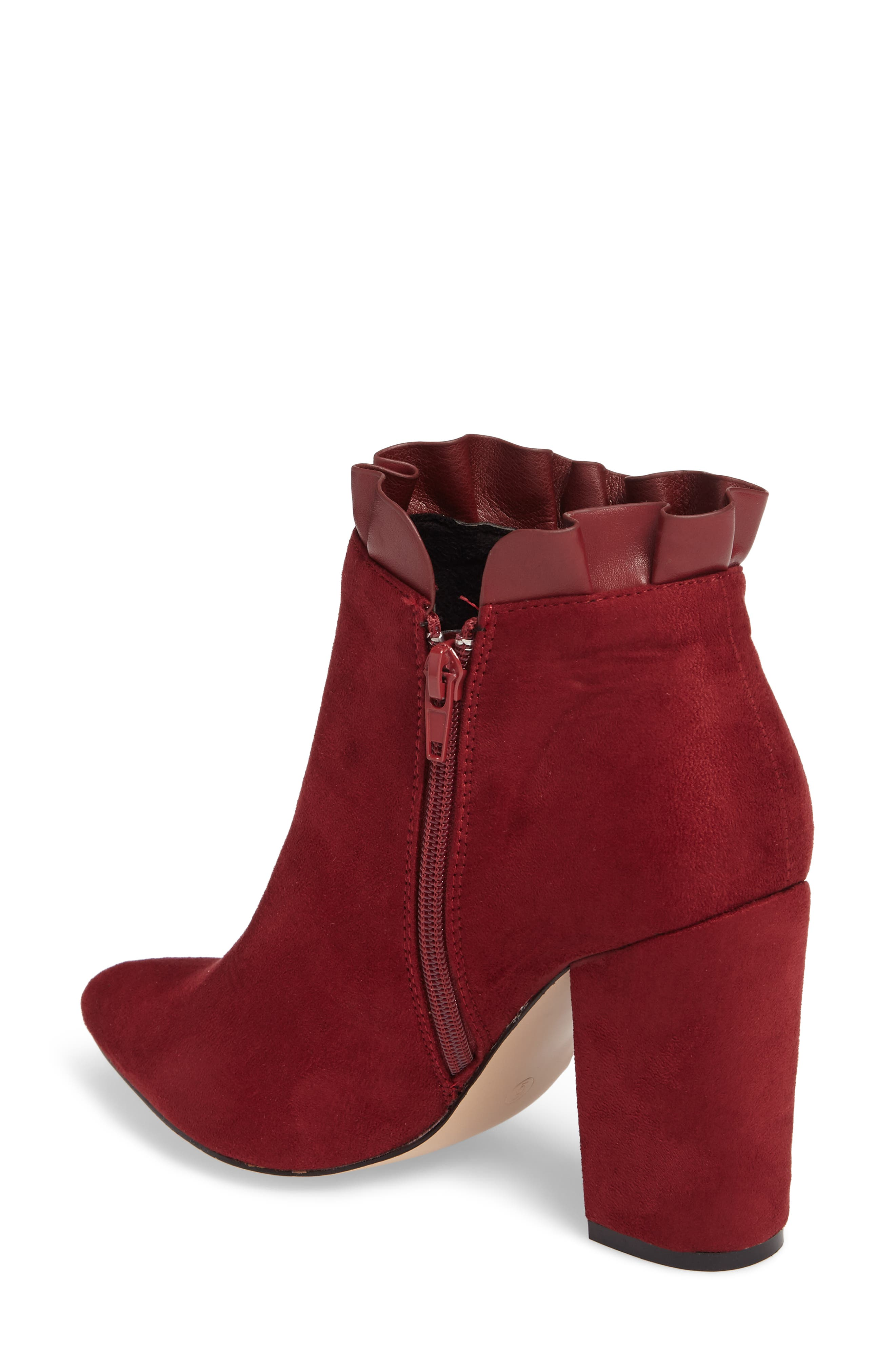 Katana Pointy Toe Bootie,                             Alternate thumbnail 6, color,