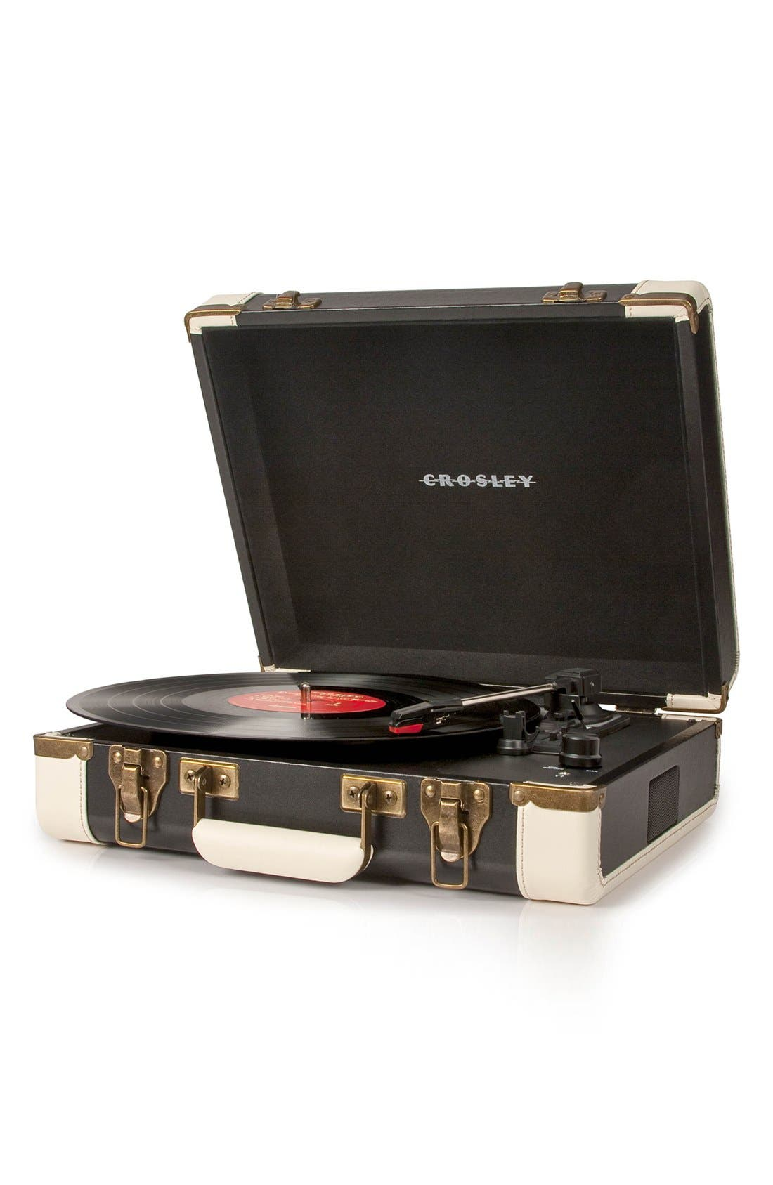 CROSLEY RADIO,                             Executive USB Turntable,                             Alternate thumbnail 2, color,                             001