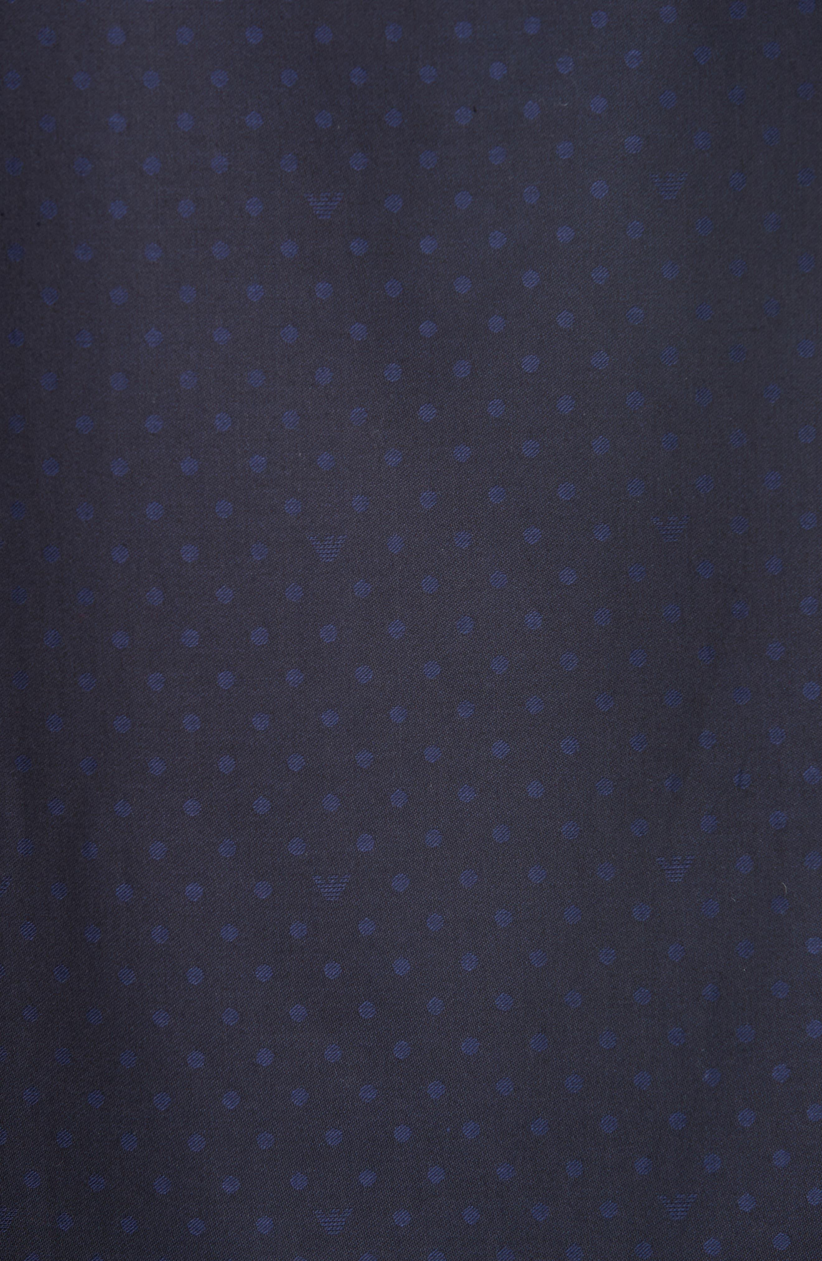 Regular Fit Stretch Solid Sport Shirt,                             Alternate thumbnail 5, color,                             NAVY