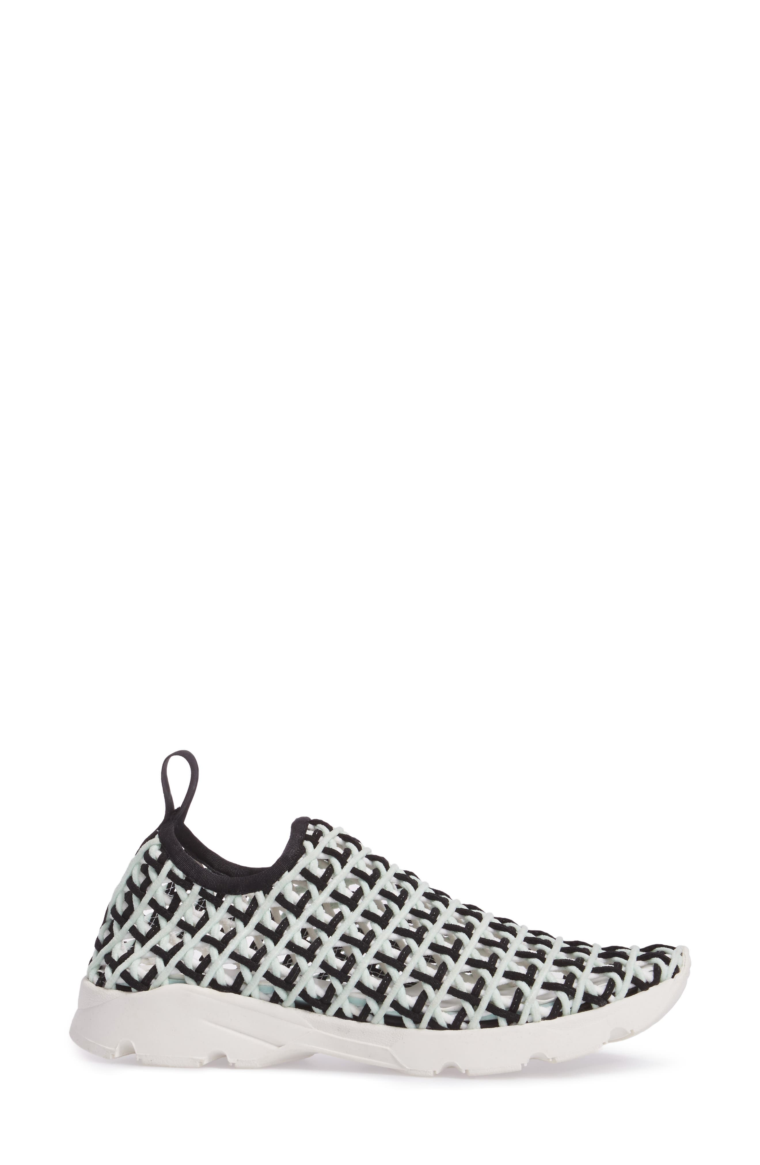 Willow Open Knit Sneaker,                             Alternate thumbnail 6, color,