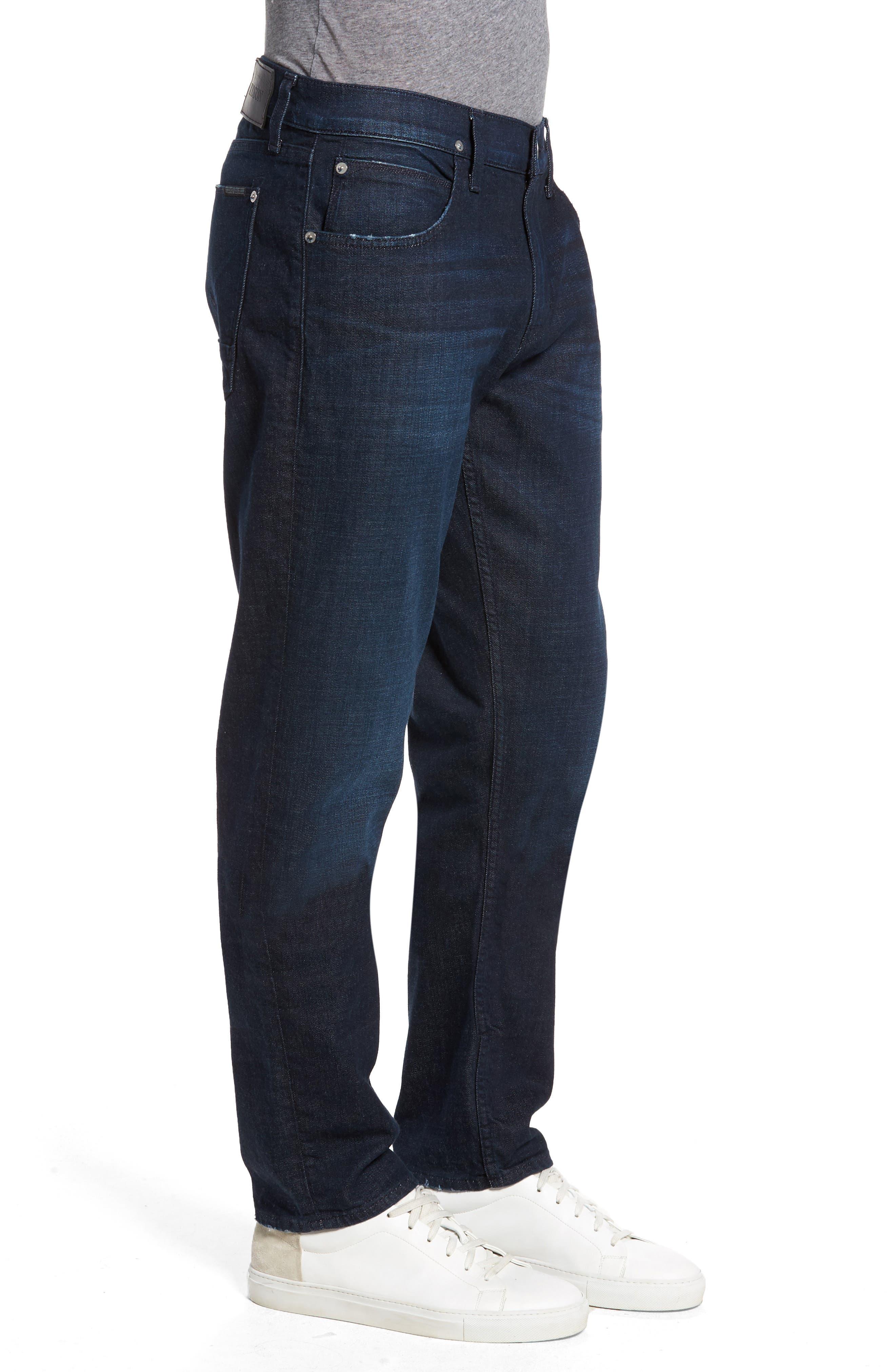 Blake Slim Fit Jeans,                             Alternate thumbnail 3, color,                             EVENING HUSH