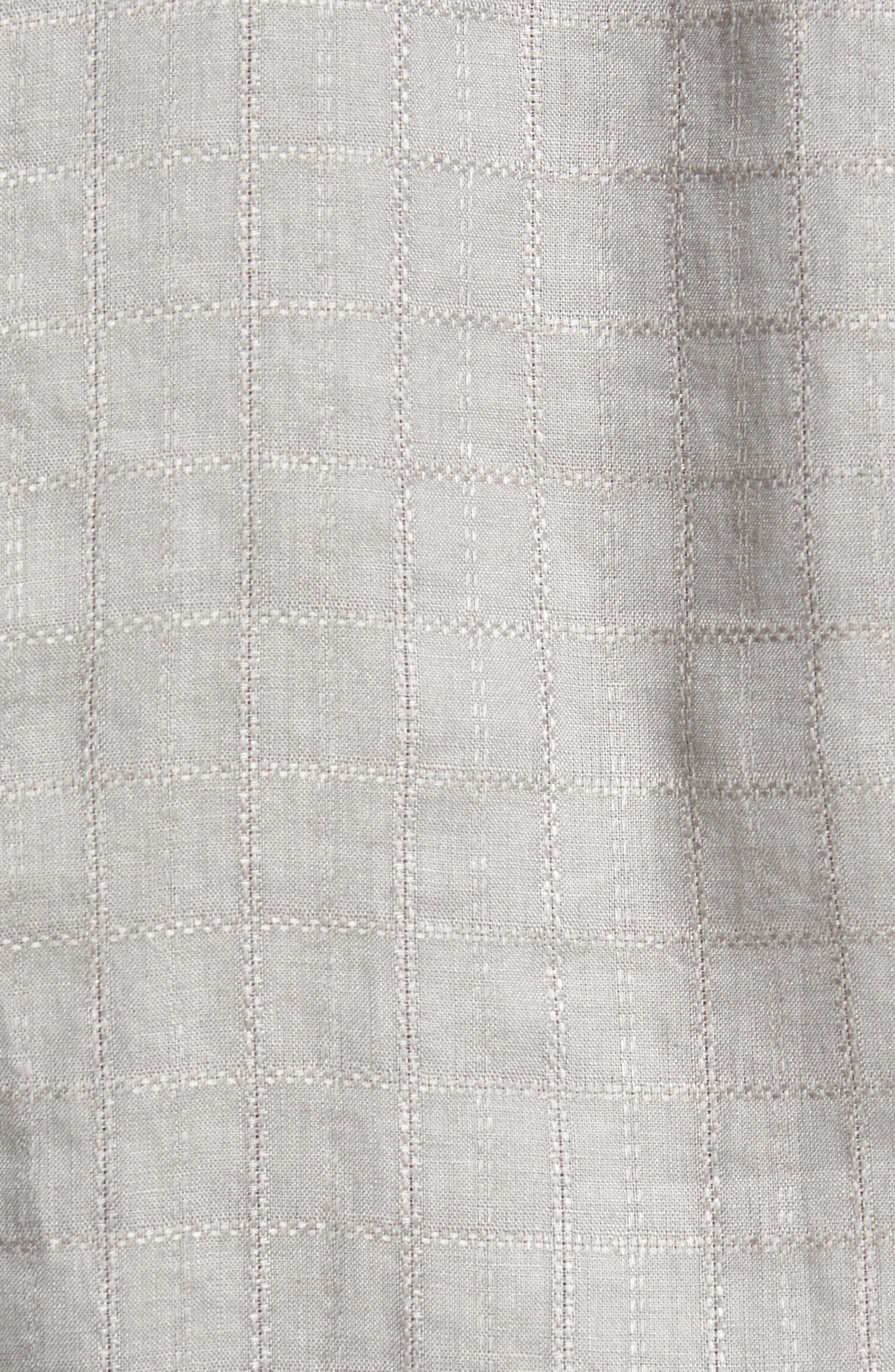Costa Cera Linen Sport Shirt,                             Alternate thumbnail 5, color,                             050
