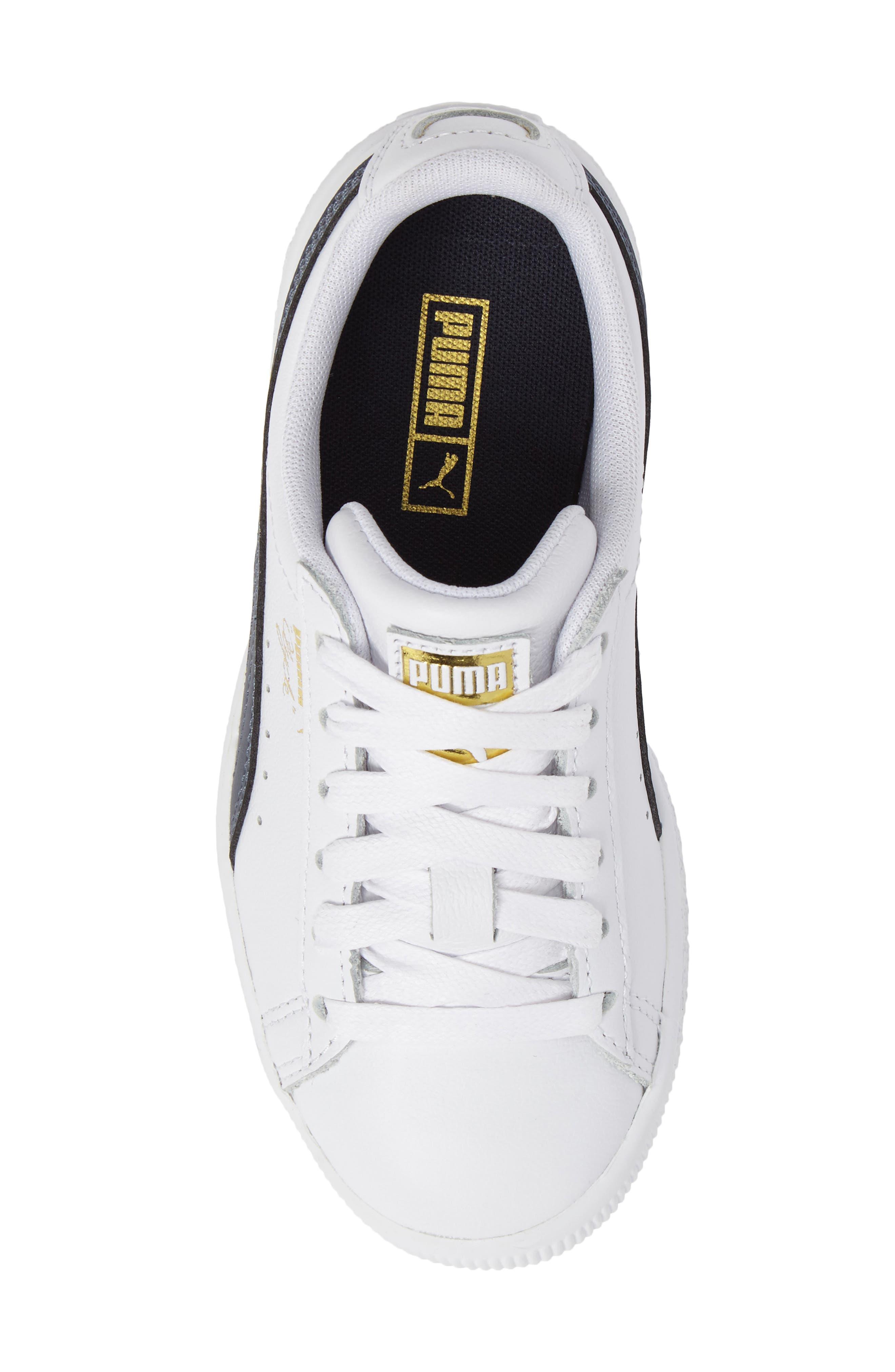 Clyde Core Foil Sneaker,                             Alternate thumbnail 28, color,