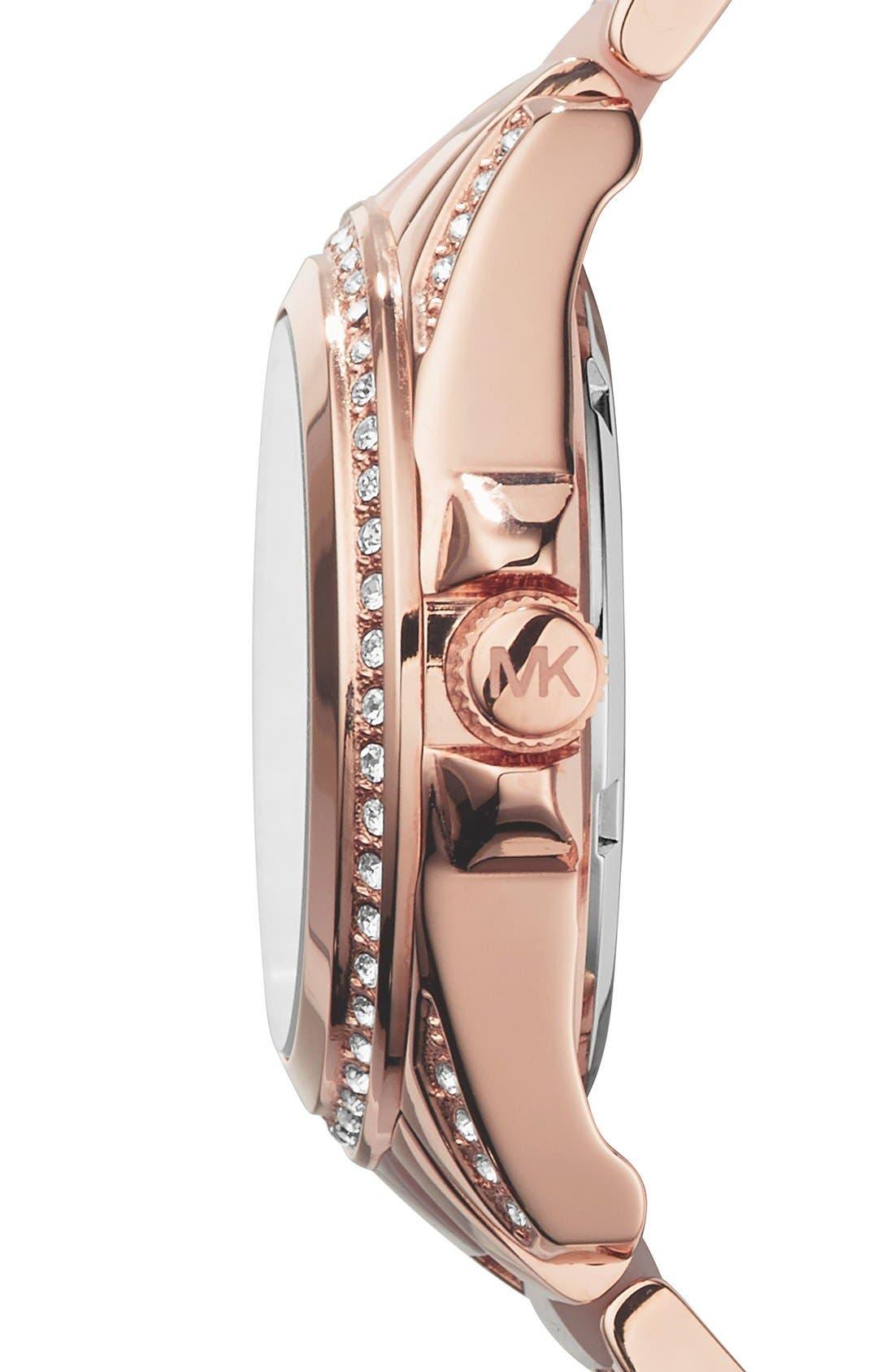 'MiniBlair' Multifunction Bracelet Watch, 33mm,                             Alternate thumbnail 2, color,