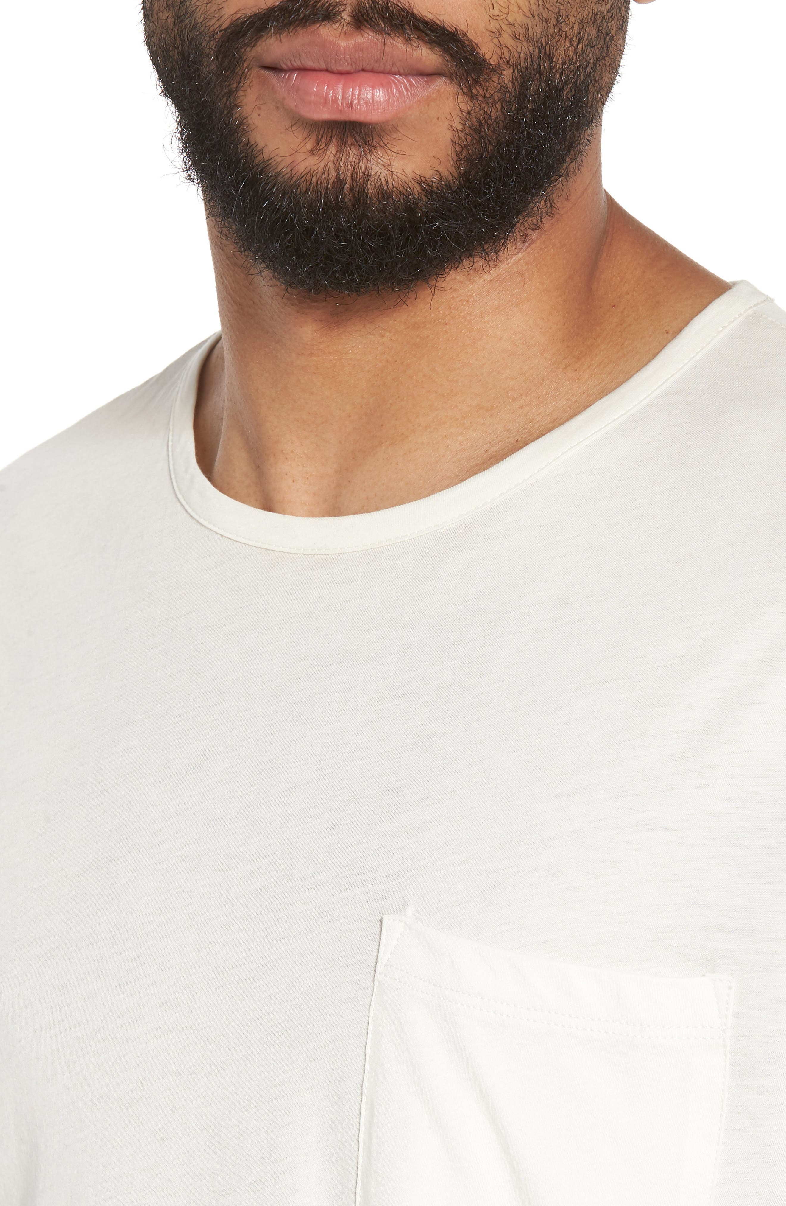 Slim Fit Stripe Pocket T-Shirt,                             Alternate thumbnail 14, color,