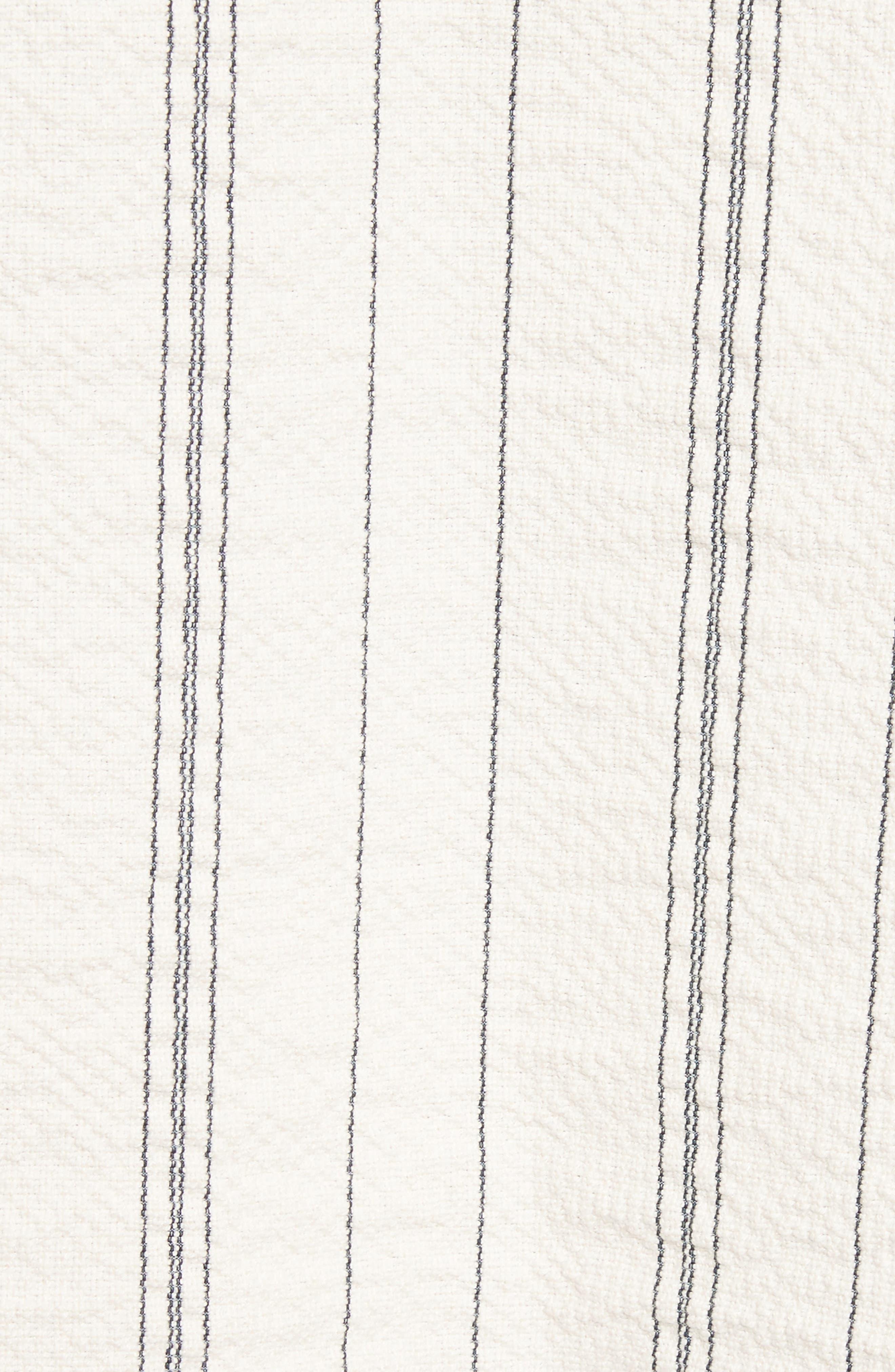 Stripe Hoodie,                             Alternate thumbnail 5, color,