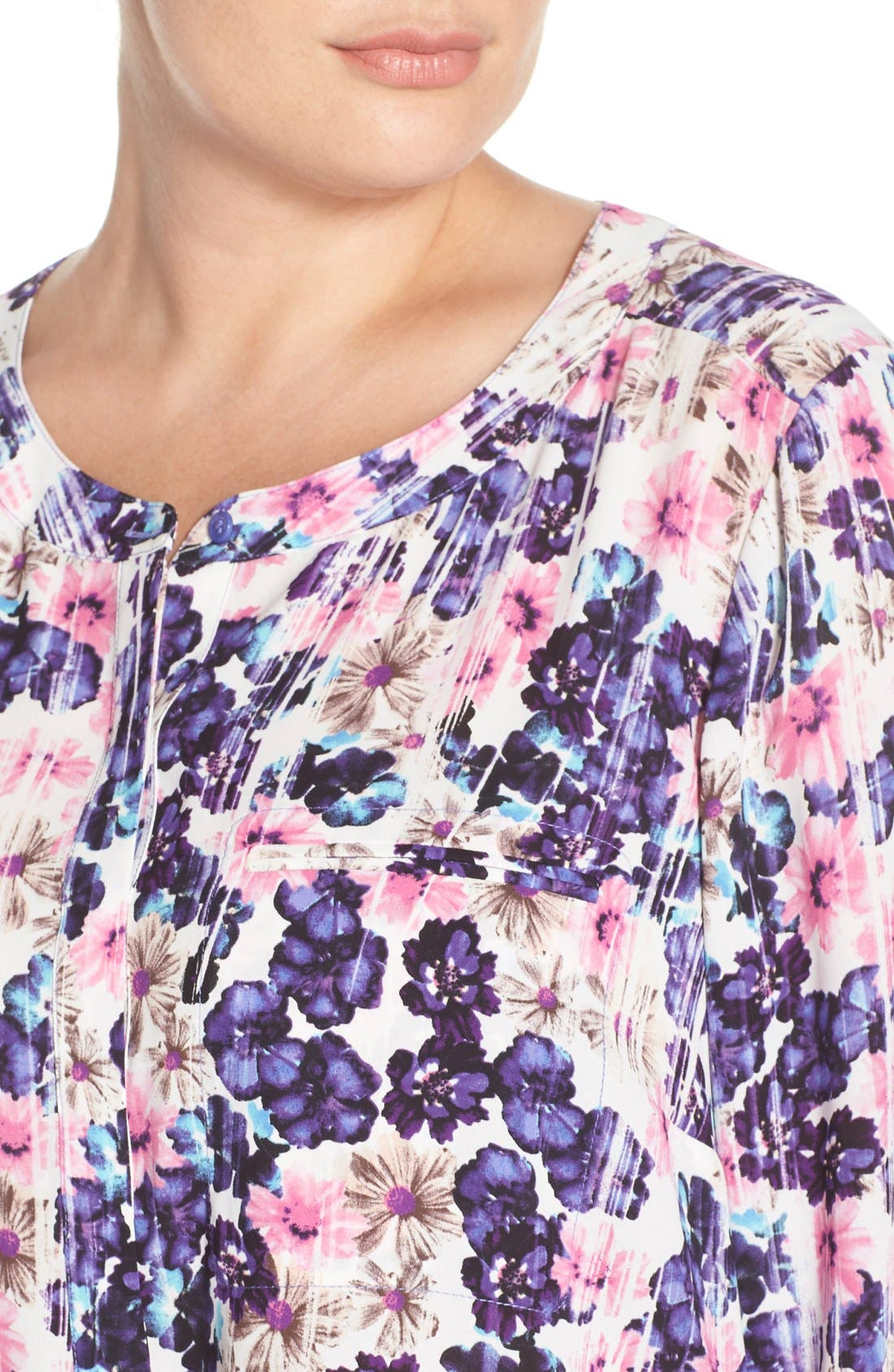 Henley Top,                             Alternate thumbnail 317, color,