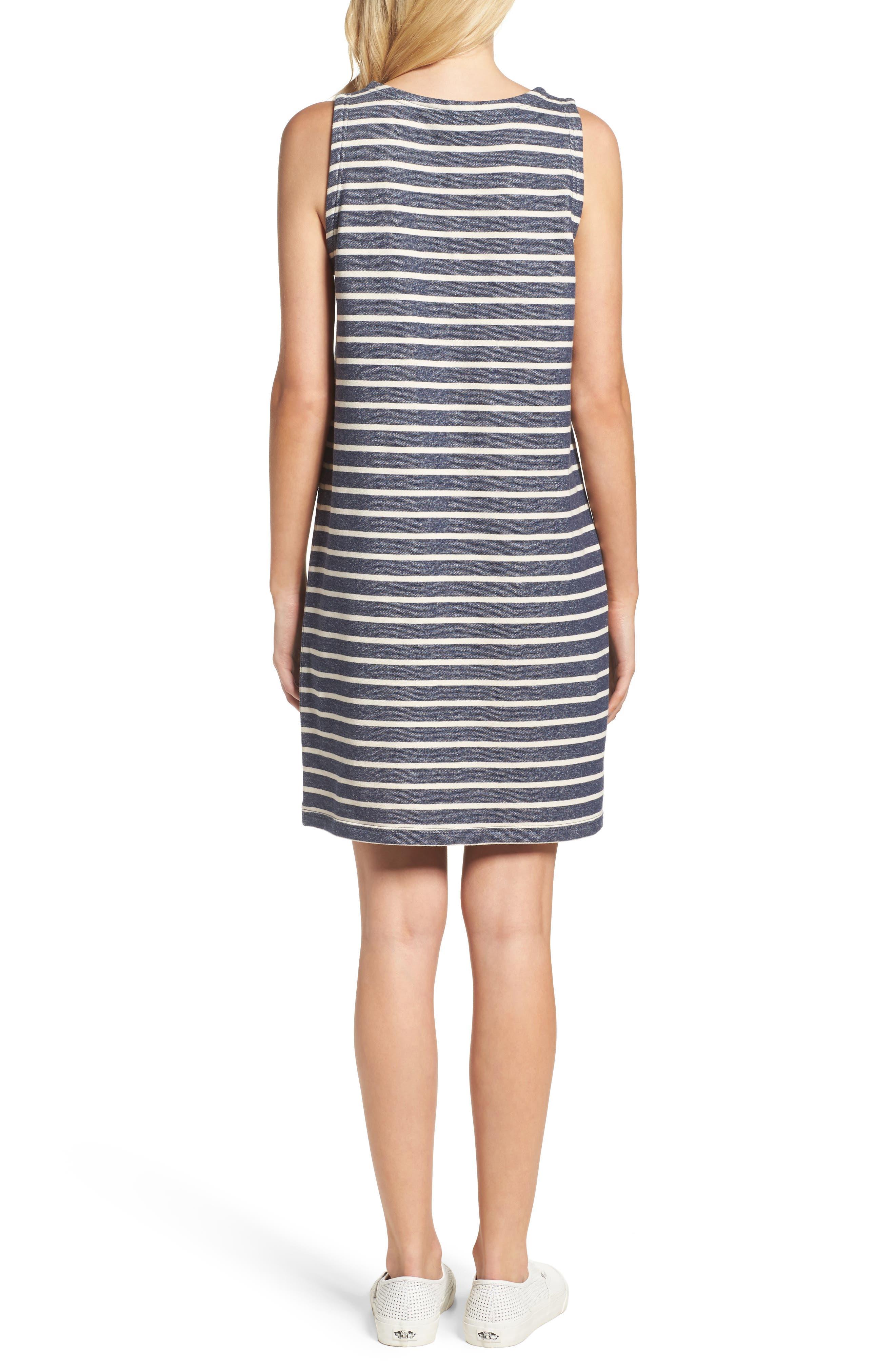 Normandy Stripe Dress,                             Alternate thumbnail 3, color,
