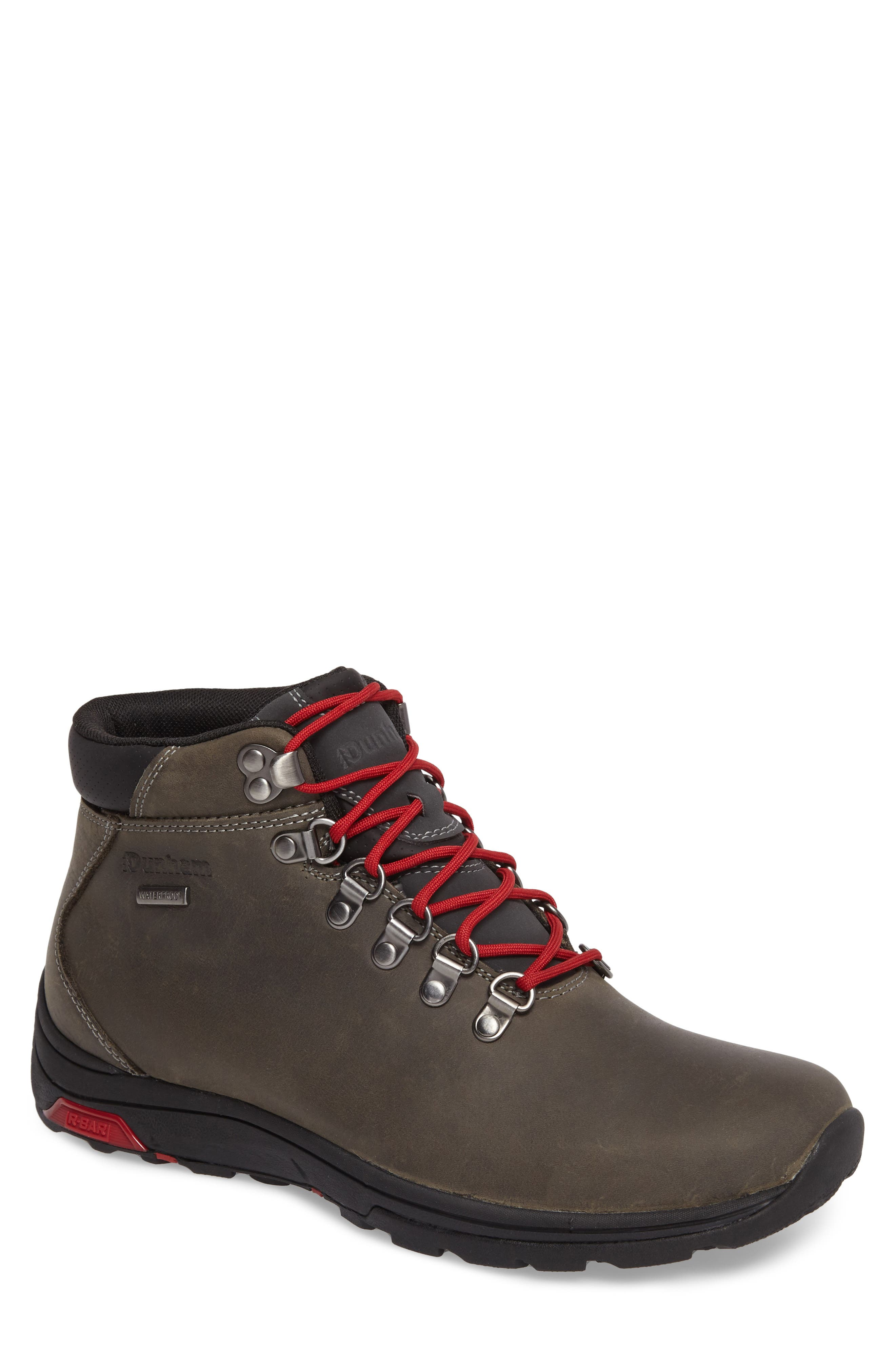 Trukka Waterproof Boot,                         Main,                         color, DARK GREY