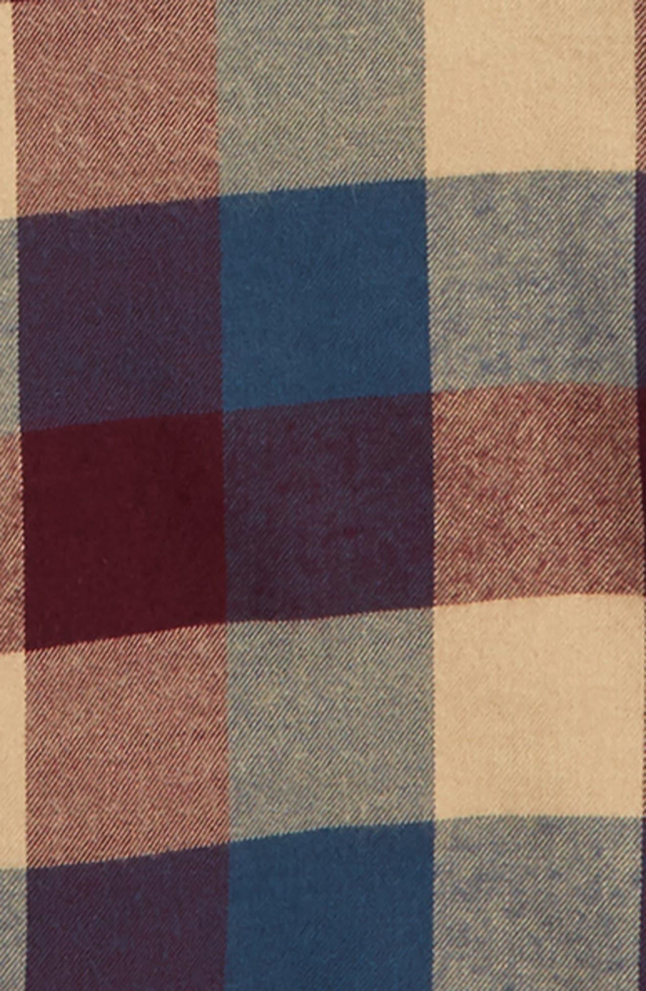 Ultrasoft Flannel Shirt,                             Alternate thumbnail 8, color,