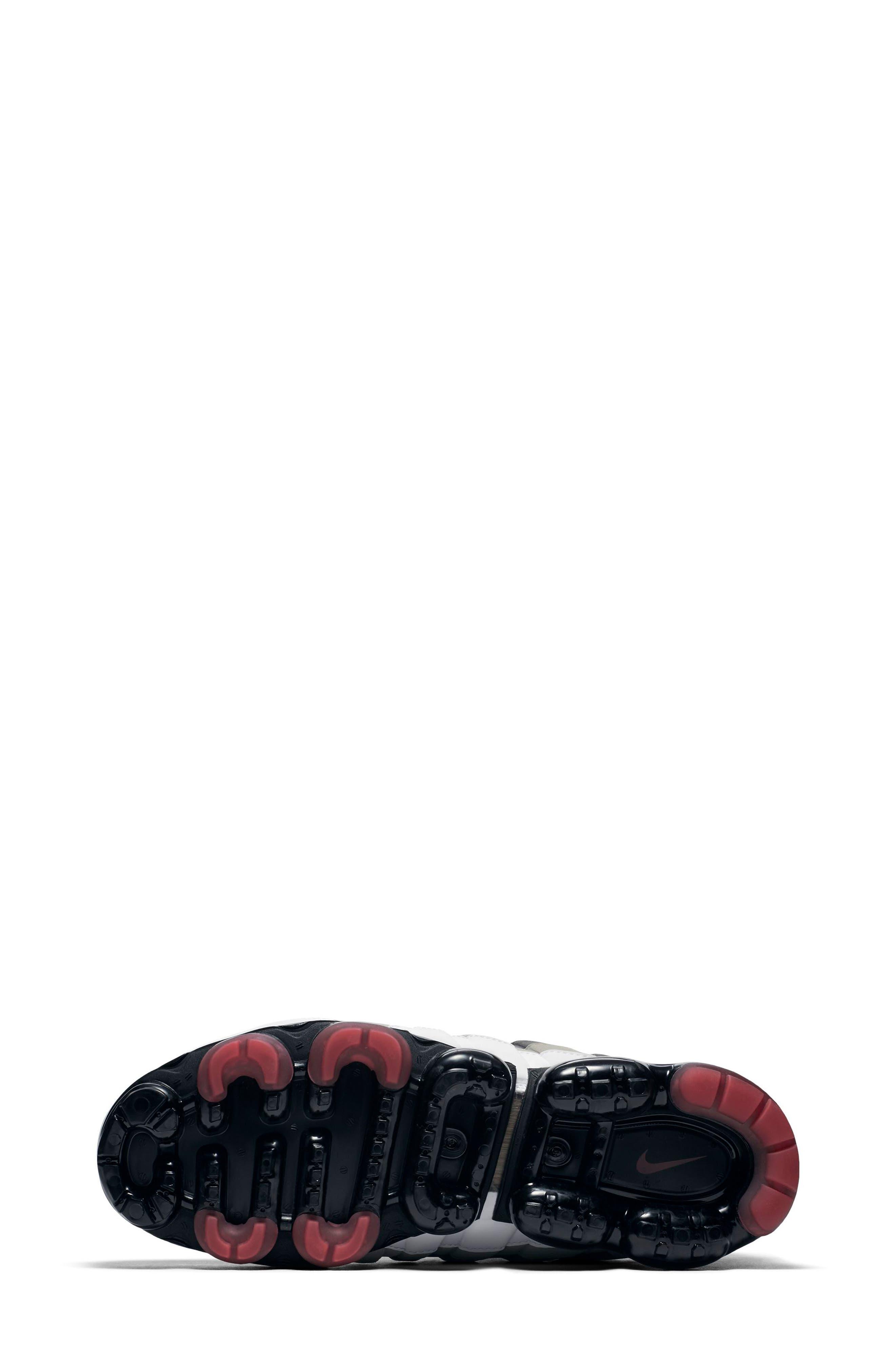 Air VaporMax '95 Sneaker,                             Alternate thumbnail 5, color,                             WHITE/ RED/ PEWTER/ GRANITE
