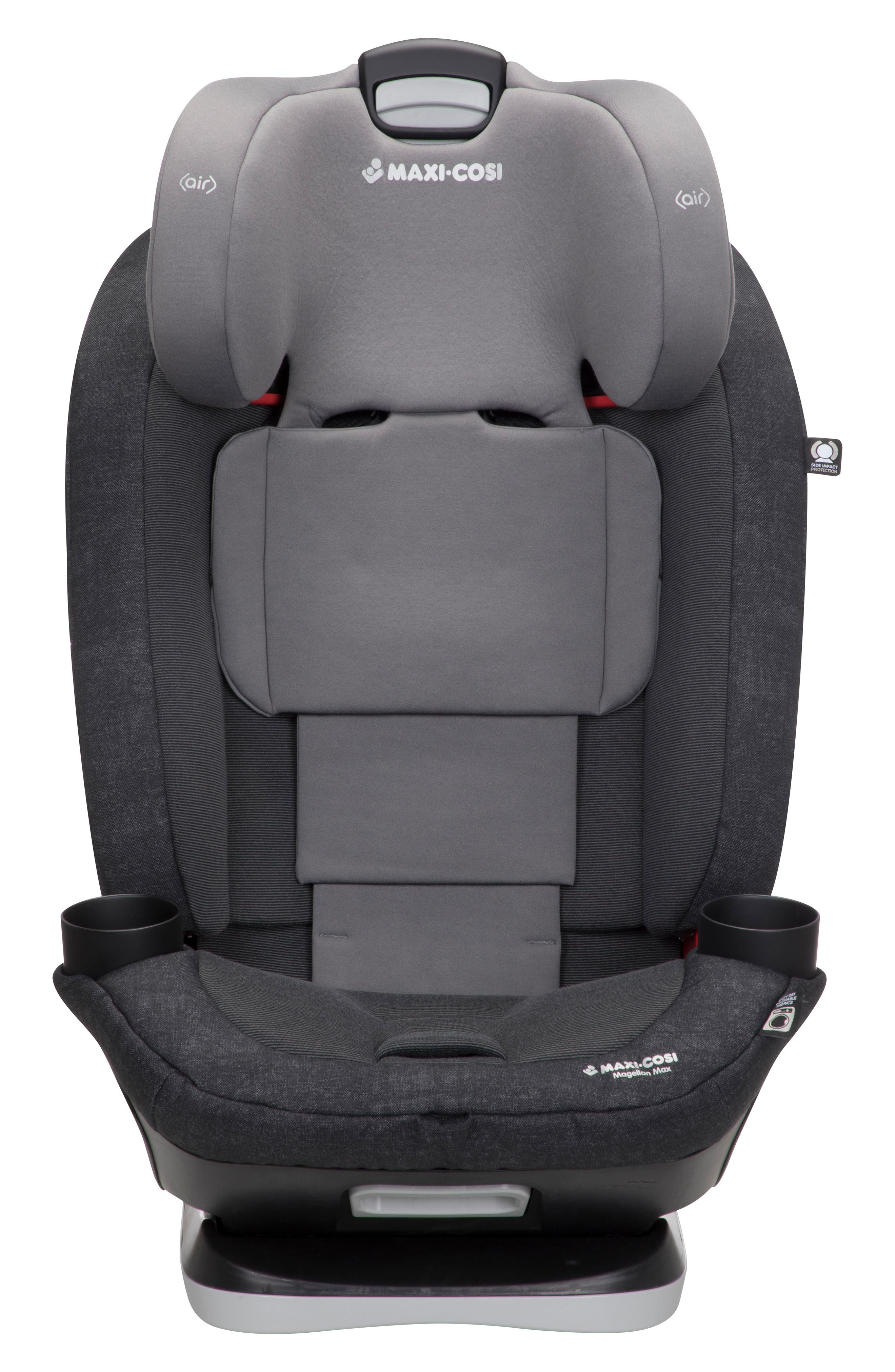 Magellan Max 2018 5-in-1 Convertible Car Seat,                             Alternate thumbnail 5, color,                             NOMAD BLACK