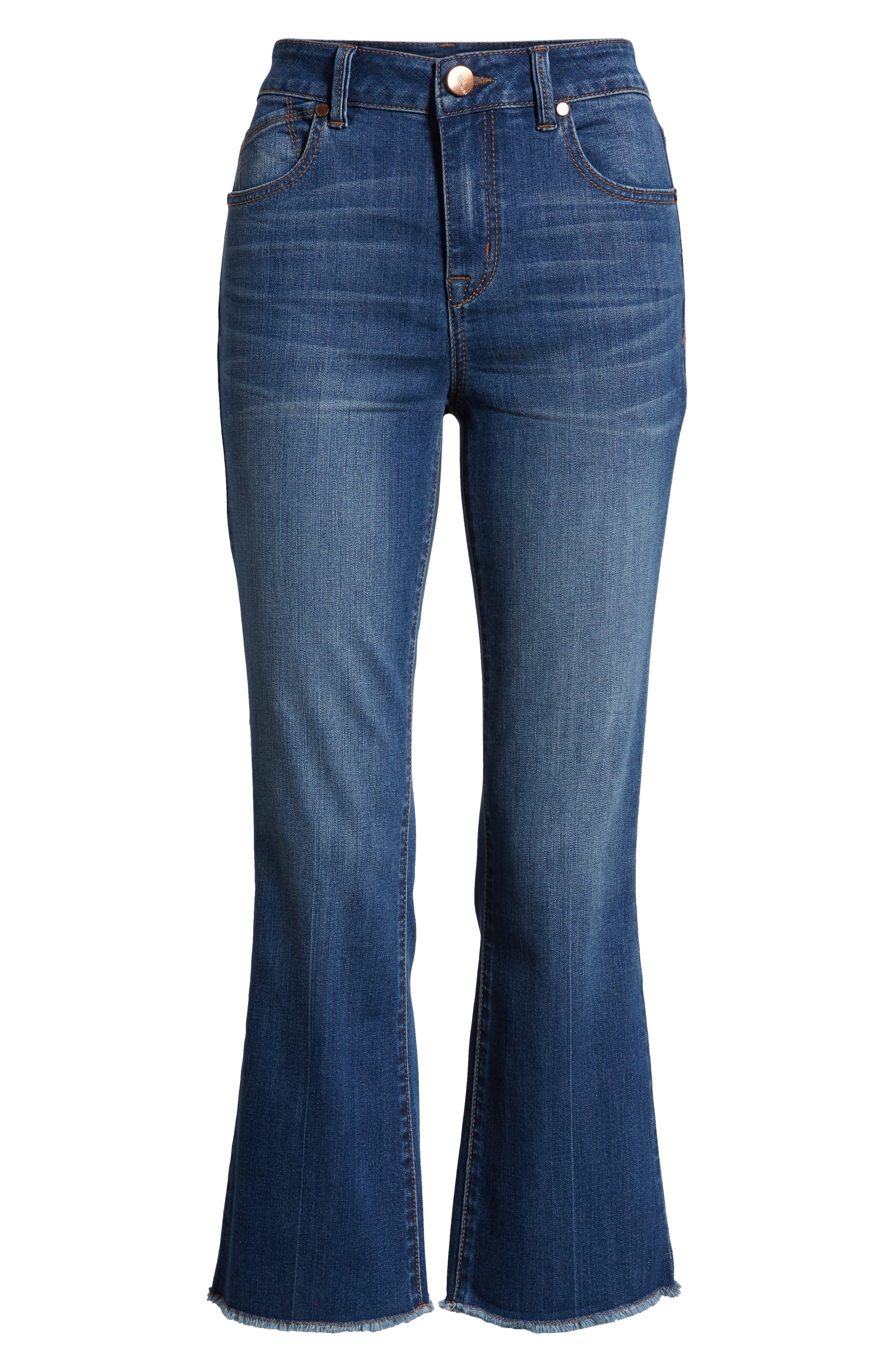 Crop Bootcut Jeans,                             Alternate thumbnail 7, color,                             TESSA