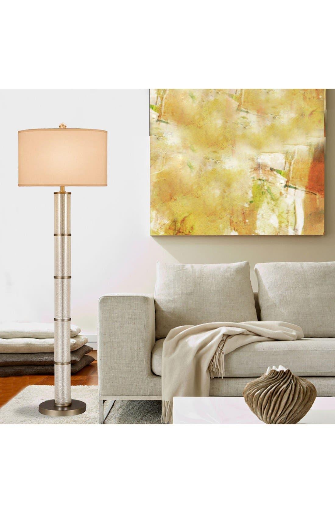 JAlexander Glass Cylinder Floor Lamp,                             Alternate thumbnail 2, color,                             040