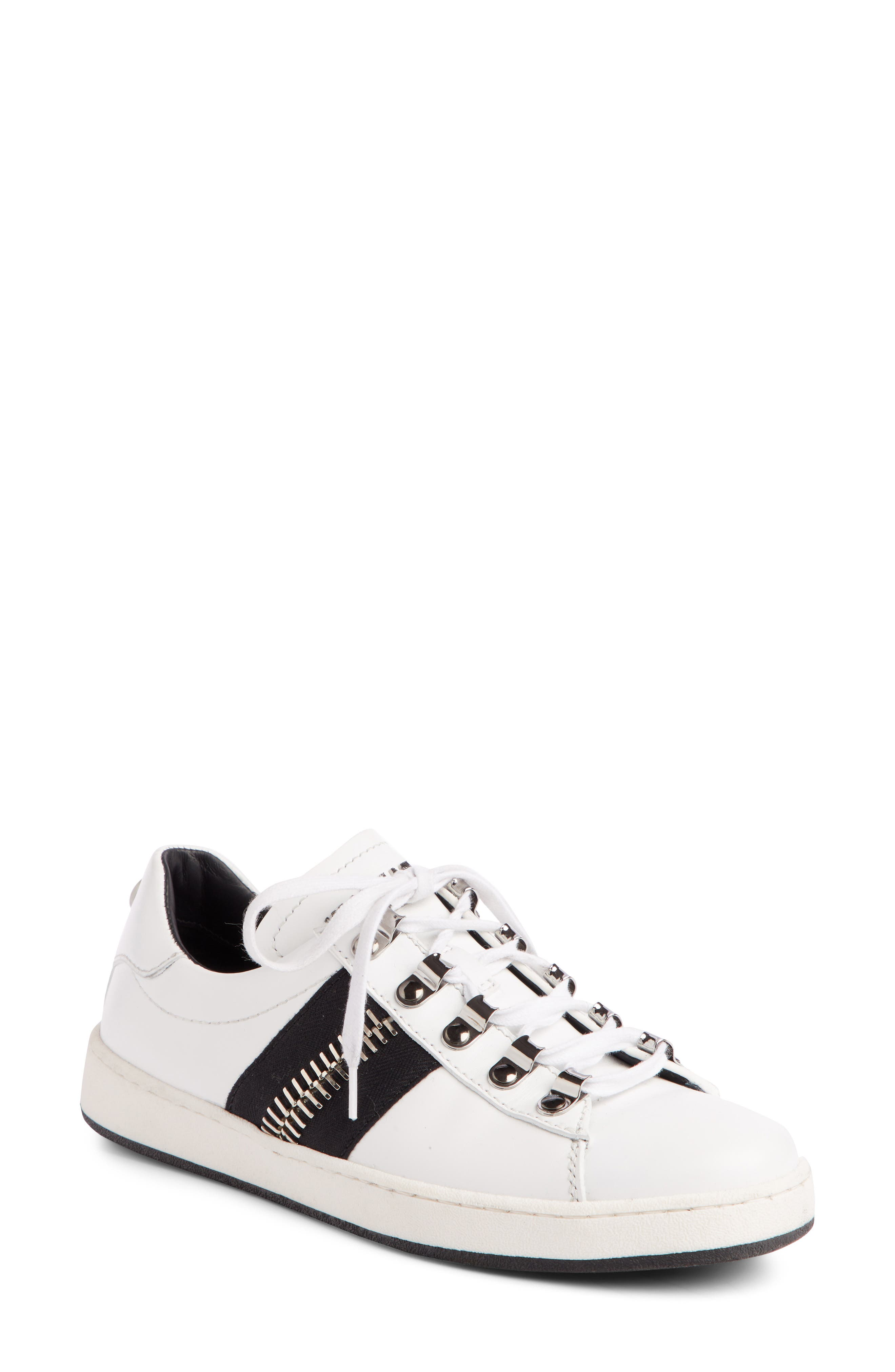 Esther Low Top Sneaker,                         Main,                         color, WHITE