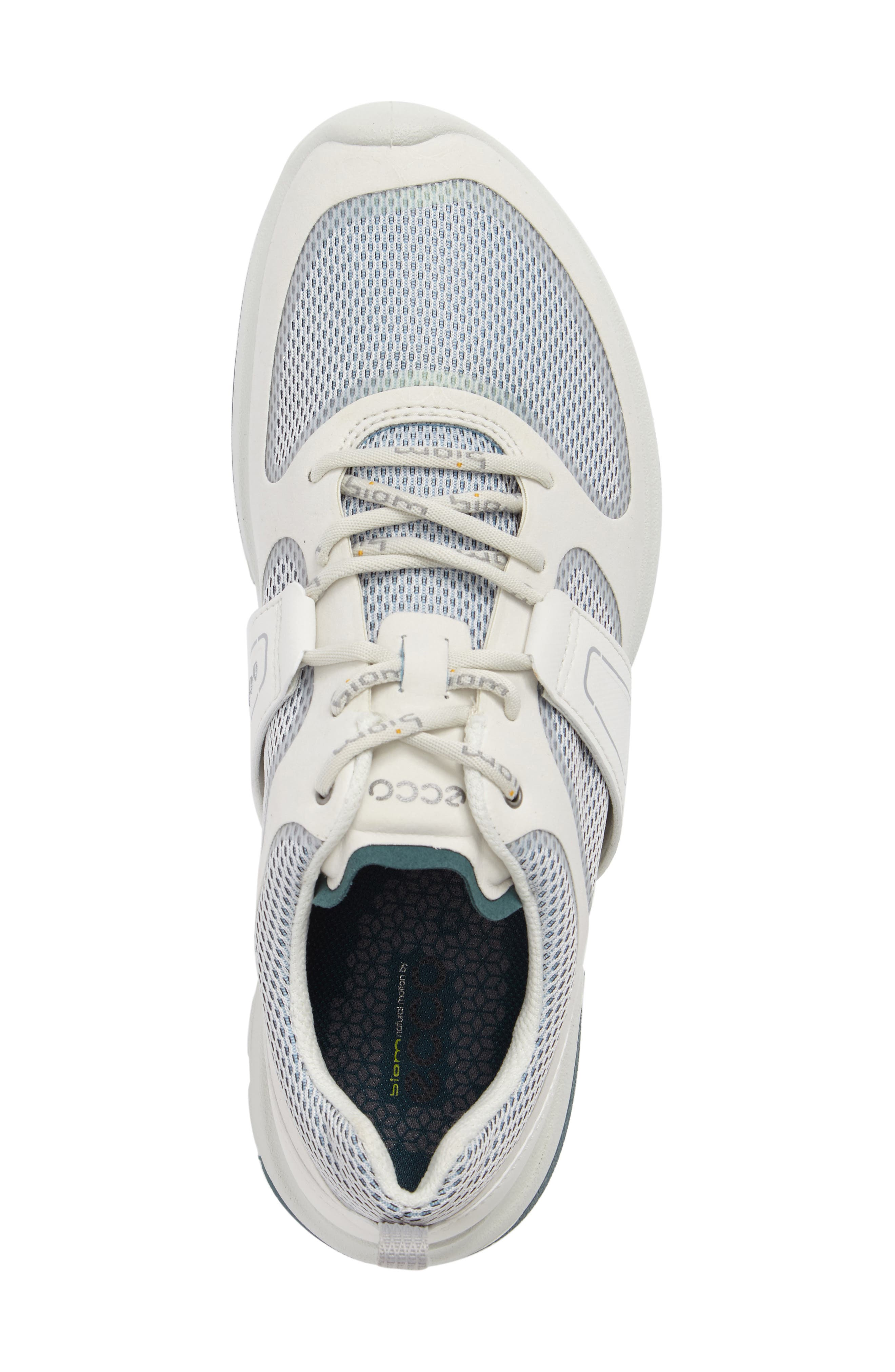 BIOM Amrap Sneaker,                             Alternate thumbnail 5, color,                             SHADOW WHITE LEATHER