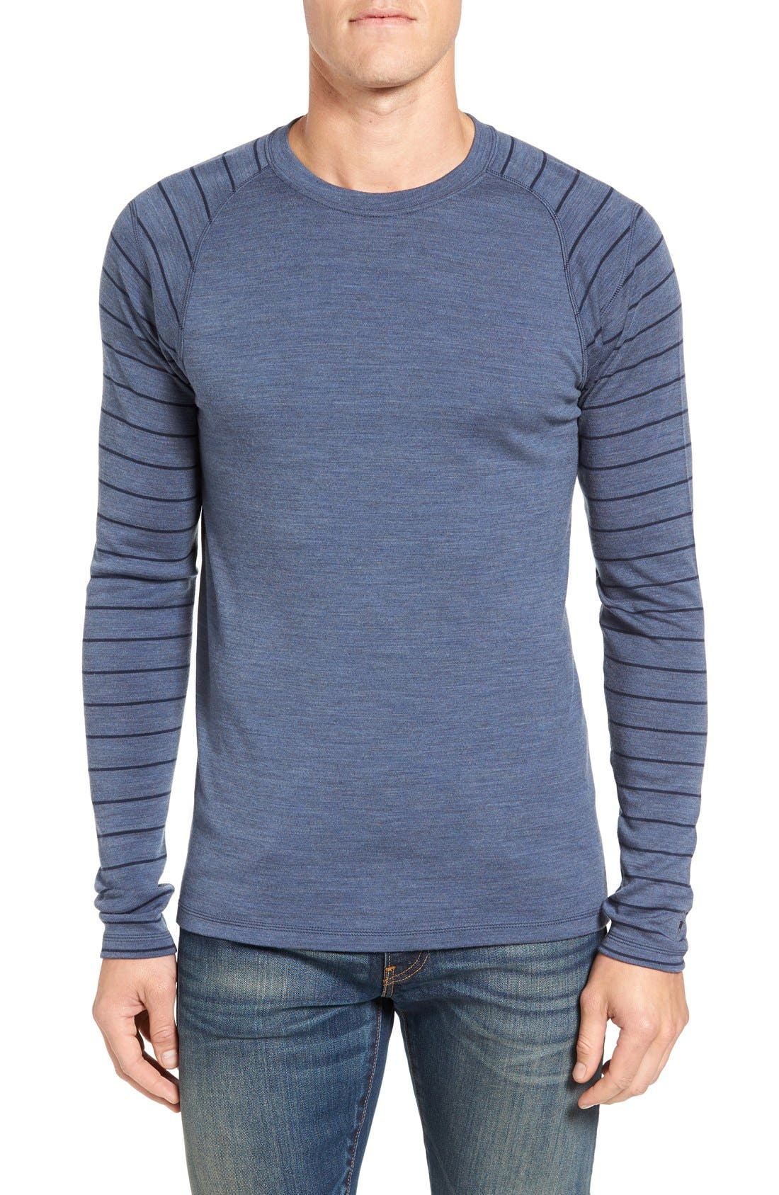 Merino 250 Base Layer Pattern Crewneck T-Shirt,                             Main thumbnail 6, color,
