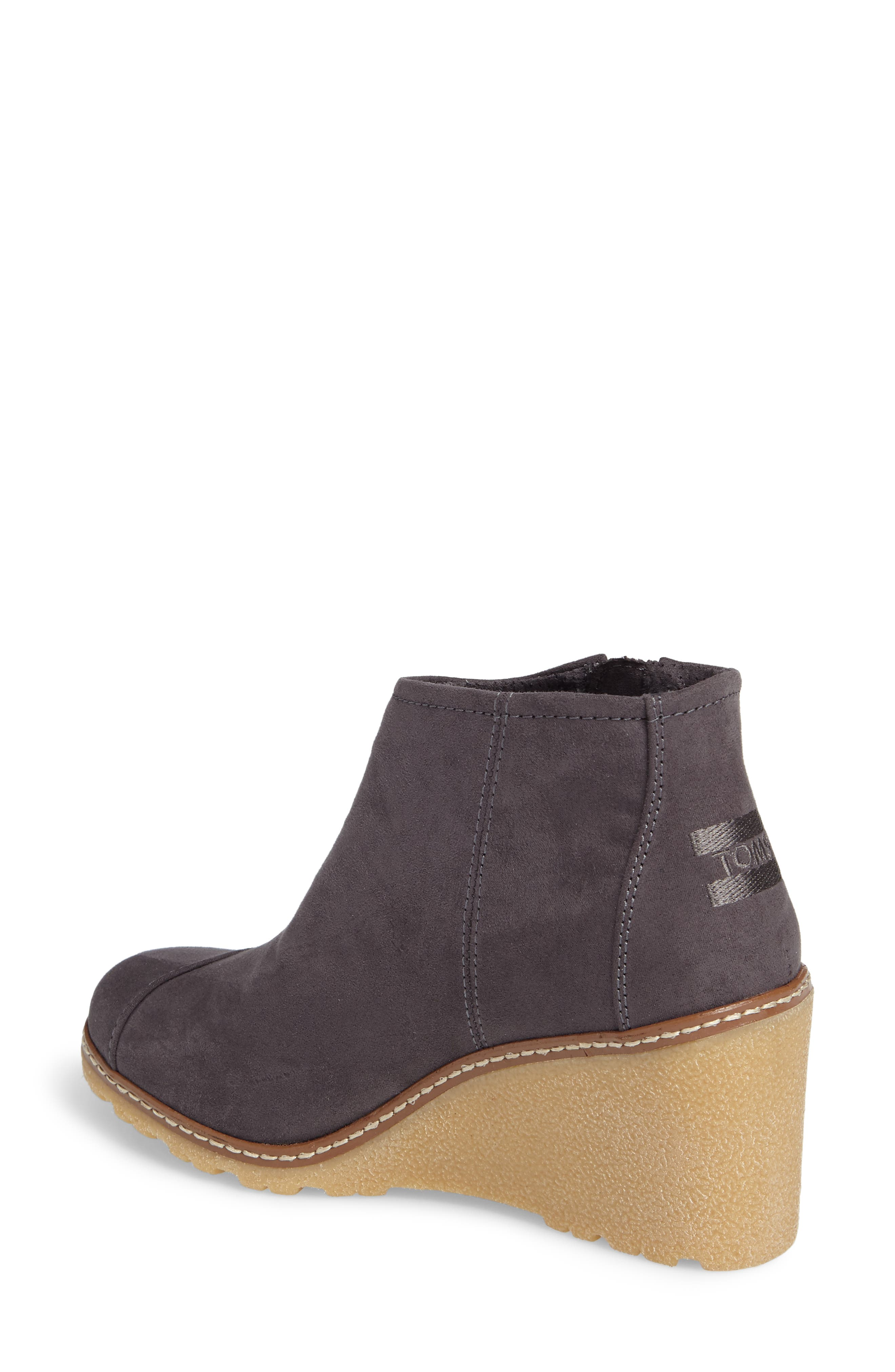 Avery Wedge Bootie,                             Alternate thumbnail 6, color,