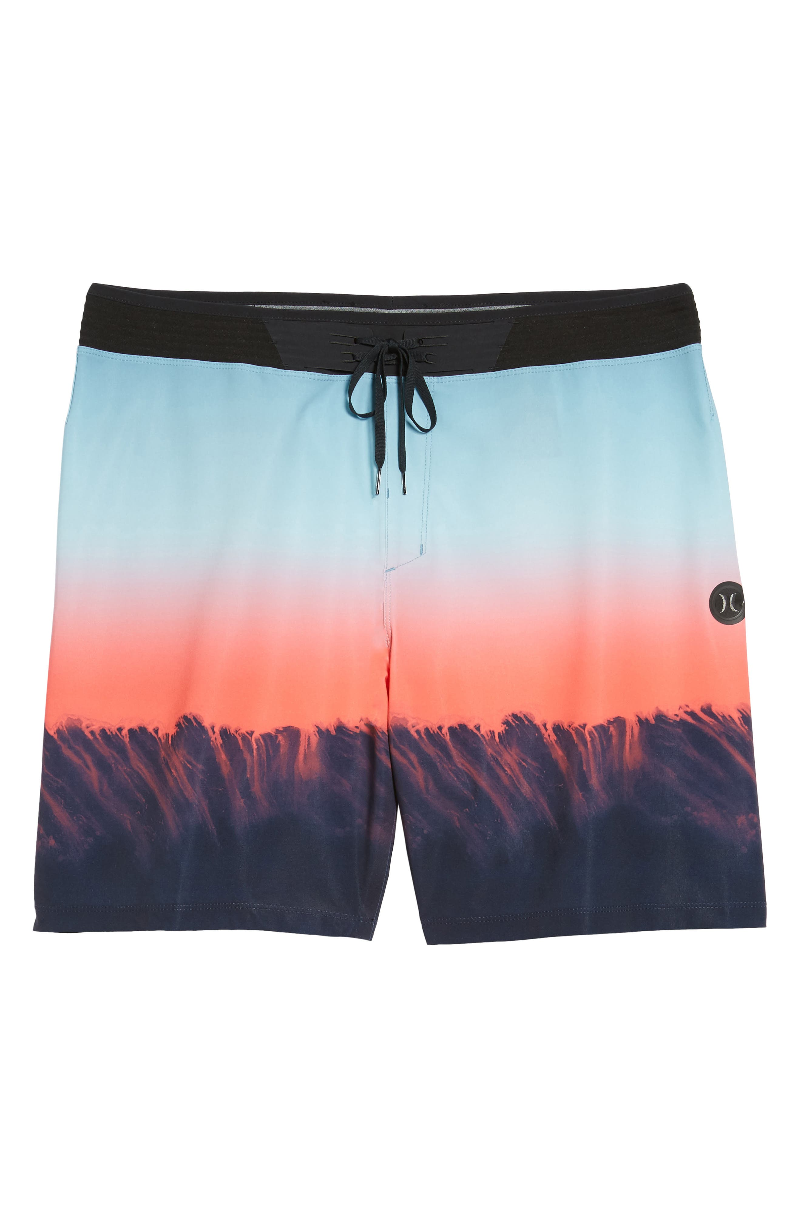 Phantom Hyperweave 3.0 Estuary Board Shorts,                             Alternate thumbnail 6, color,                             OBSIDIAN