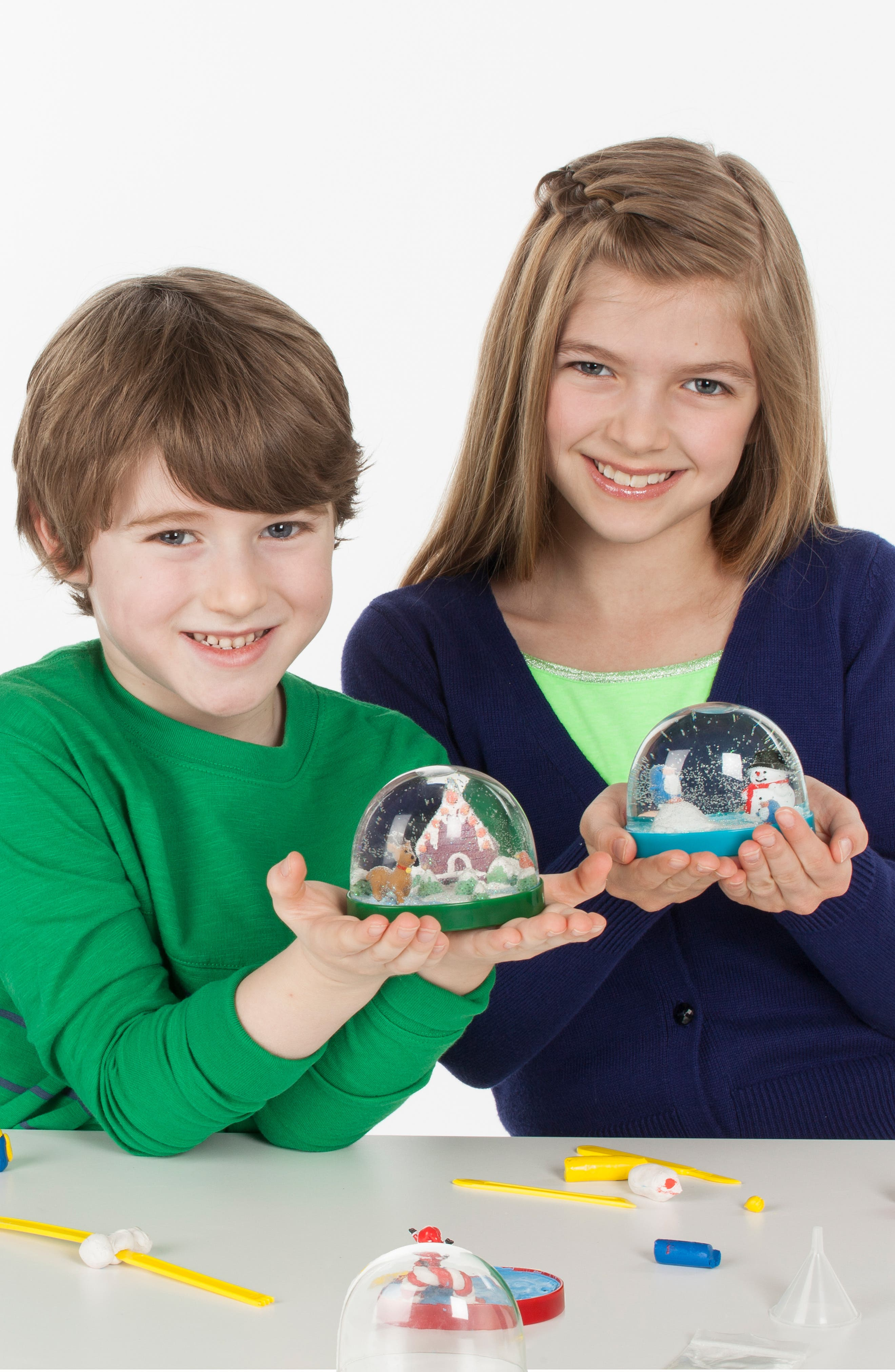 Make Your Own Holiday Snow Globe Set,                             Alternate thumbnail 2, color,                             460