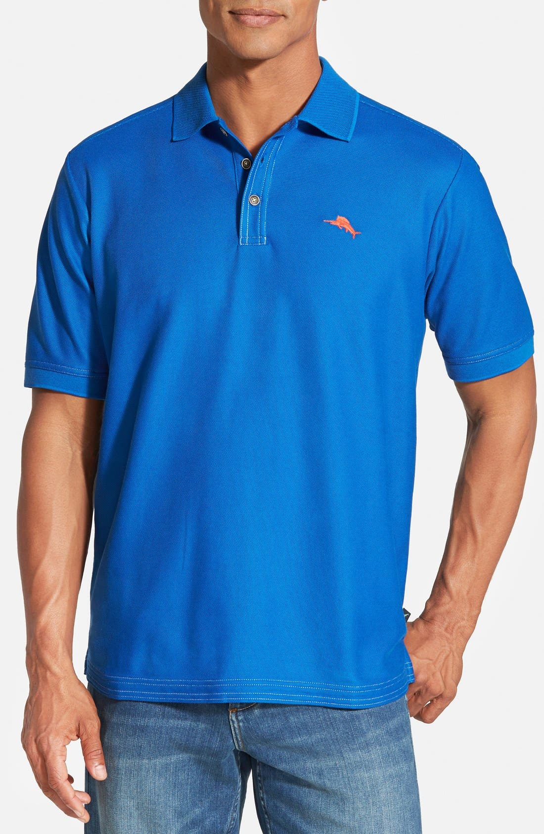 'The Emfielder' Original Fit Piqué Polo,                             Main thumbnail 65, color,