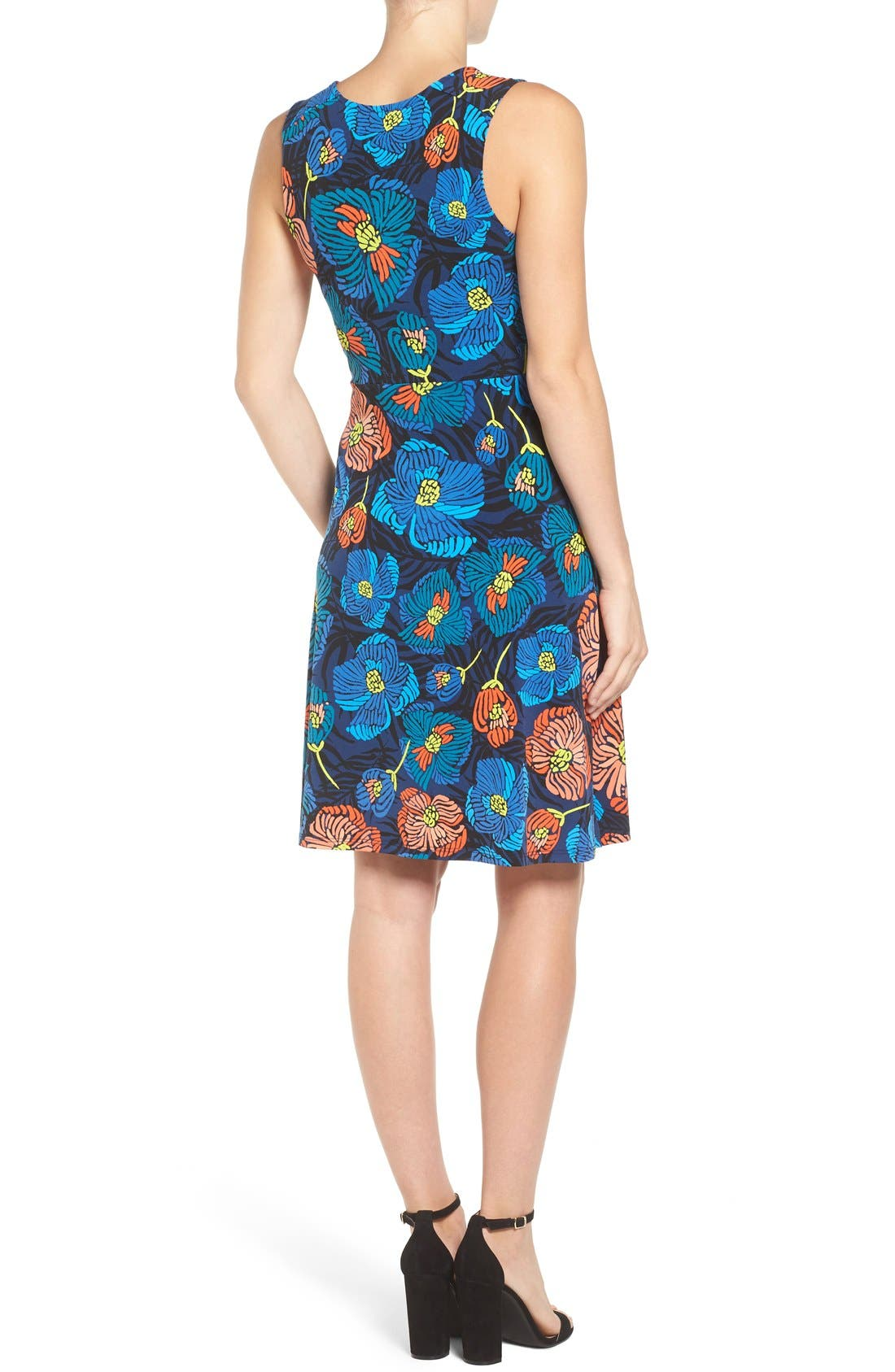 'Isabella' Sleeveless Maternity Dress,                             Alternate thumbnail 2, color,                             FLORA