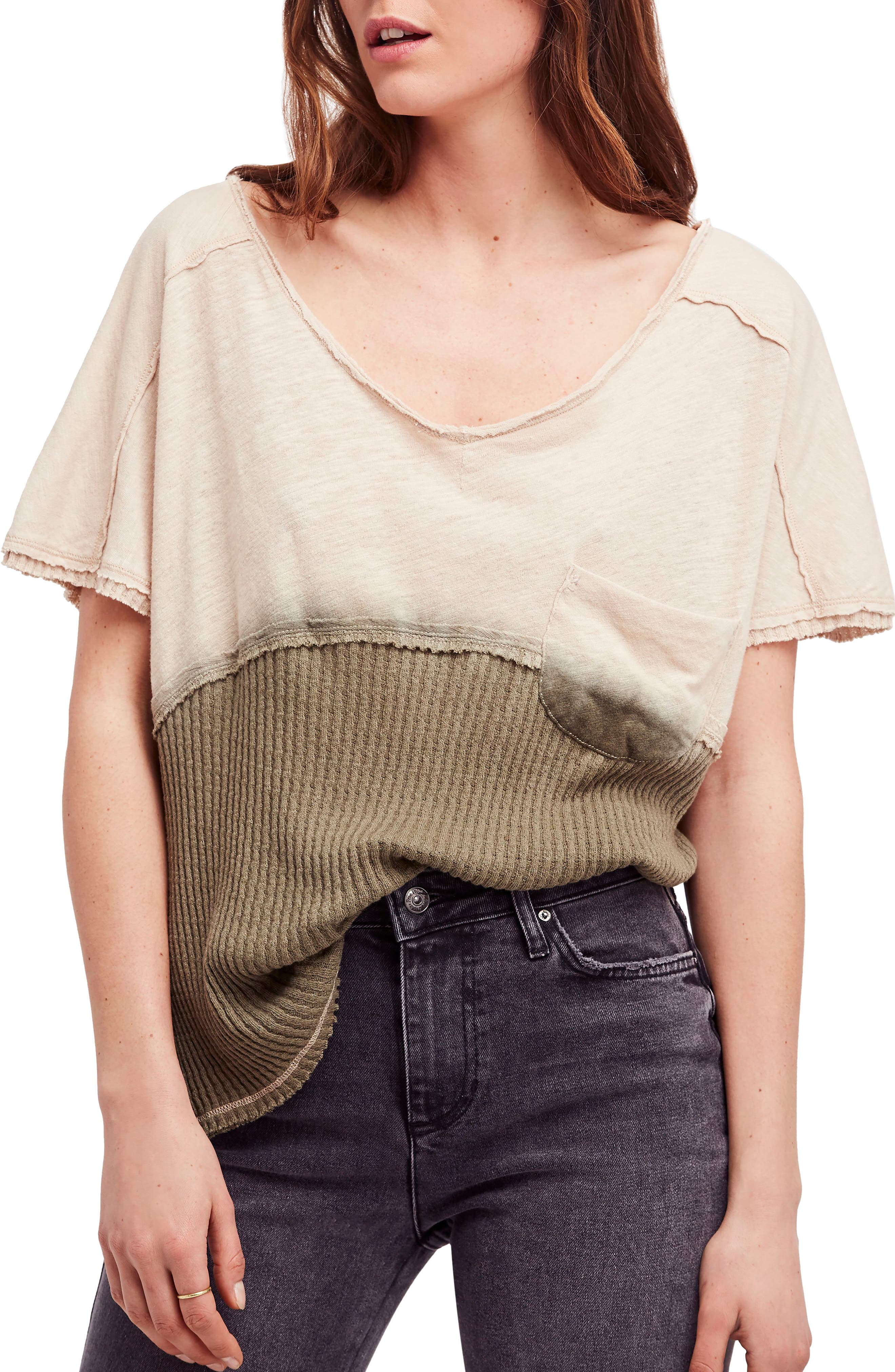 FREE PEOPLE Sun Dial Tee, Main, color, 251
