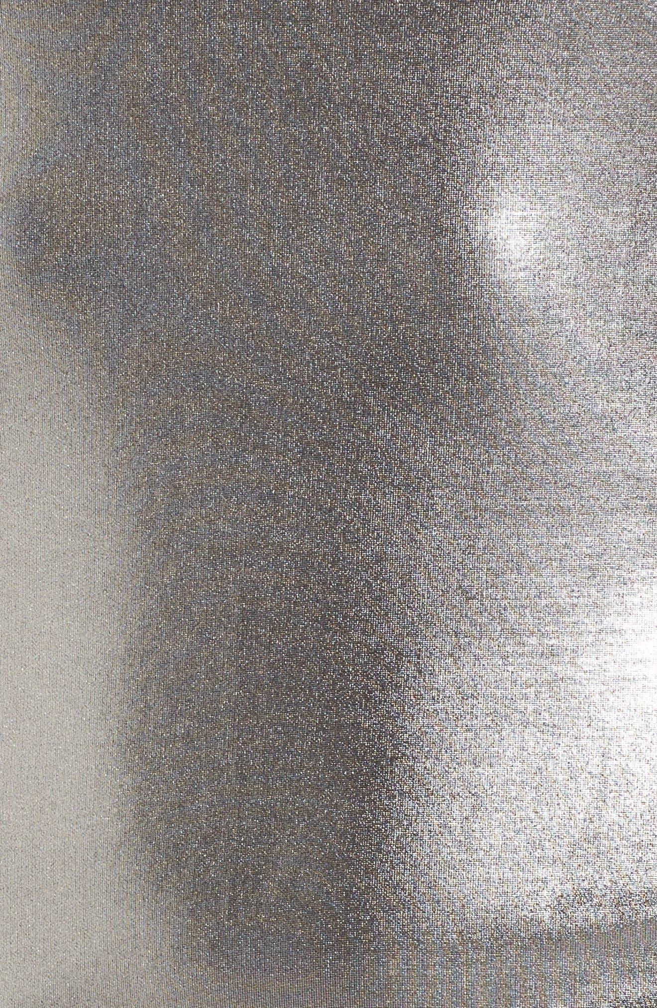 Leon One-Shoulder Body-Con Dress,                             Alternate thumbnail 5, color,                             020